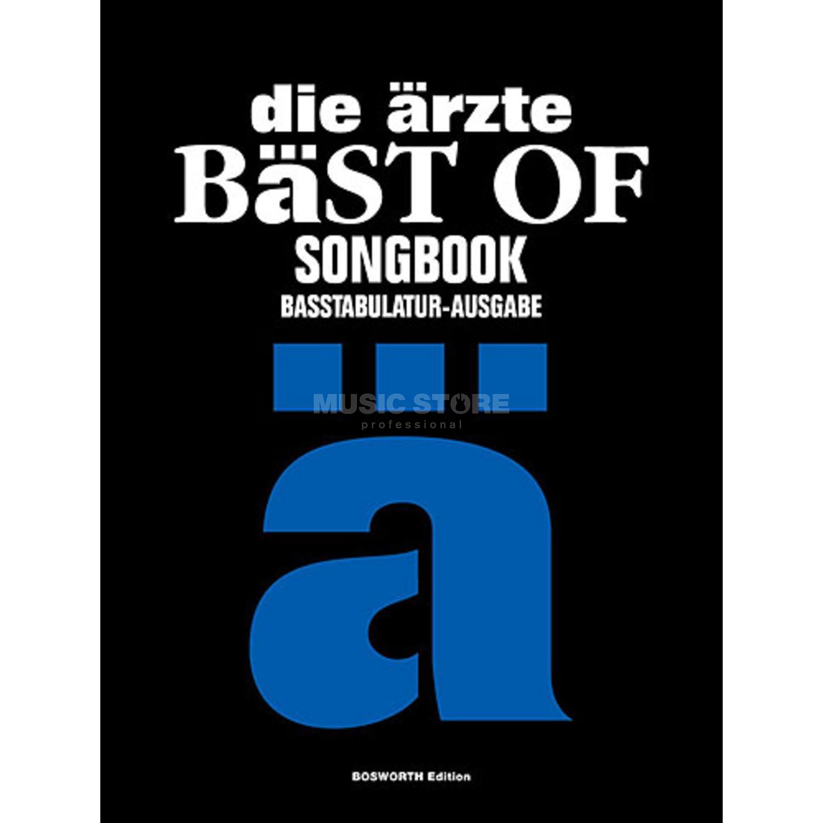 Bosworth Music Die Ärzte - Bäst Of BASS Bass TAB Produktbild