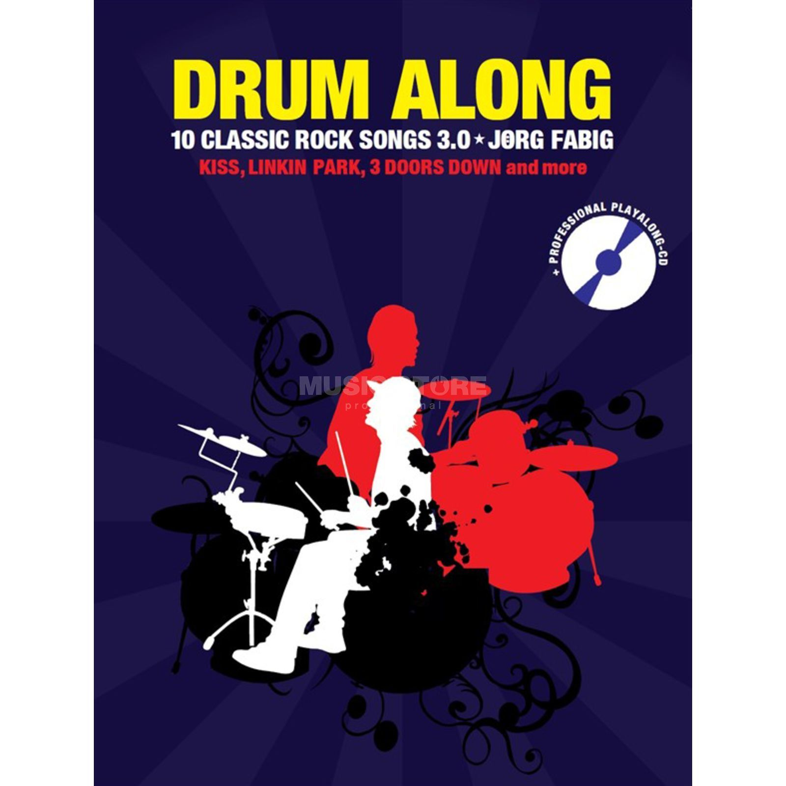 Bosworth Music Drum Along: 10 Classic Rock Songs 3.0 Produktbild