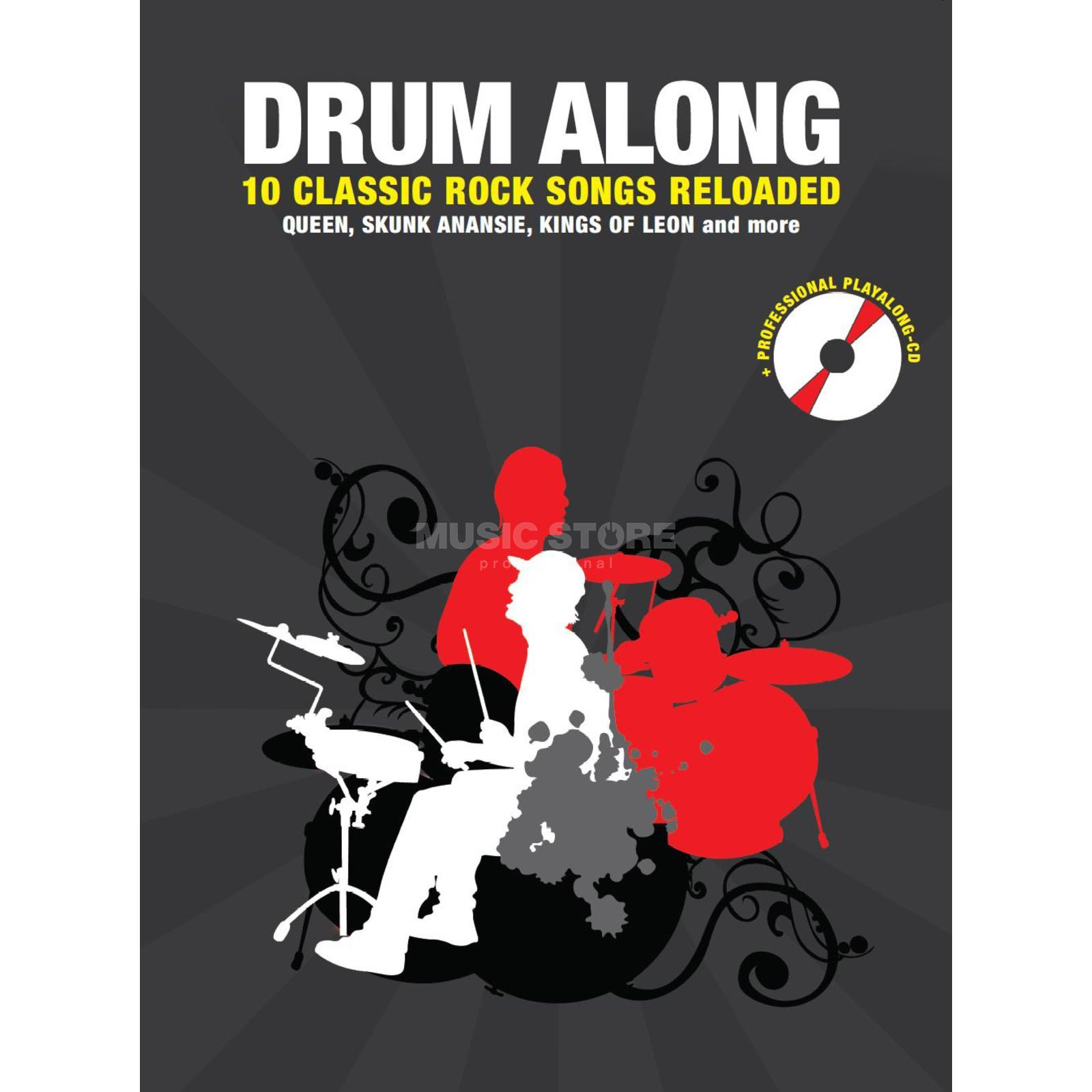 Bosworth Music Drum Along: 10 Classic Rock Songs Reloaded, Jörg Fabig Produktbillede