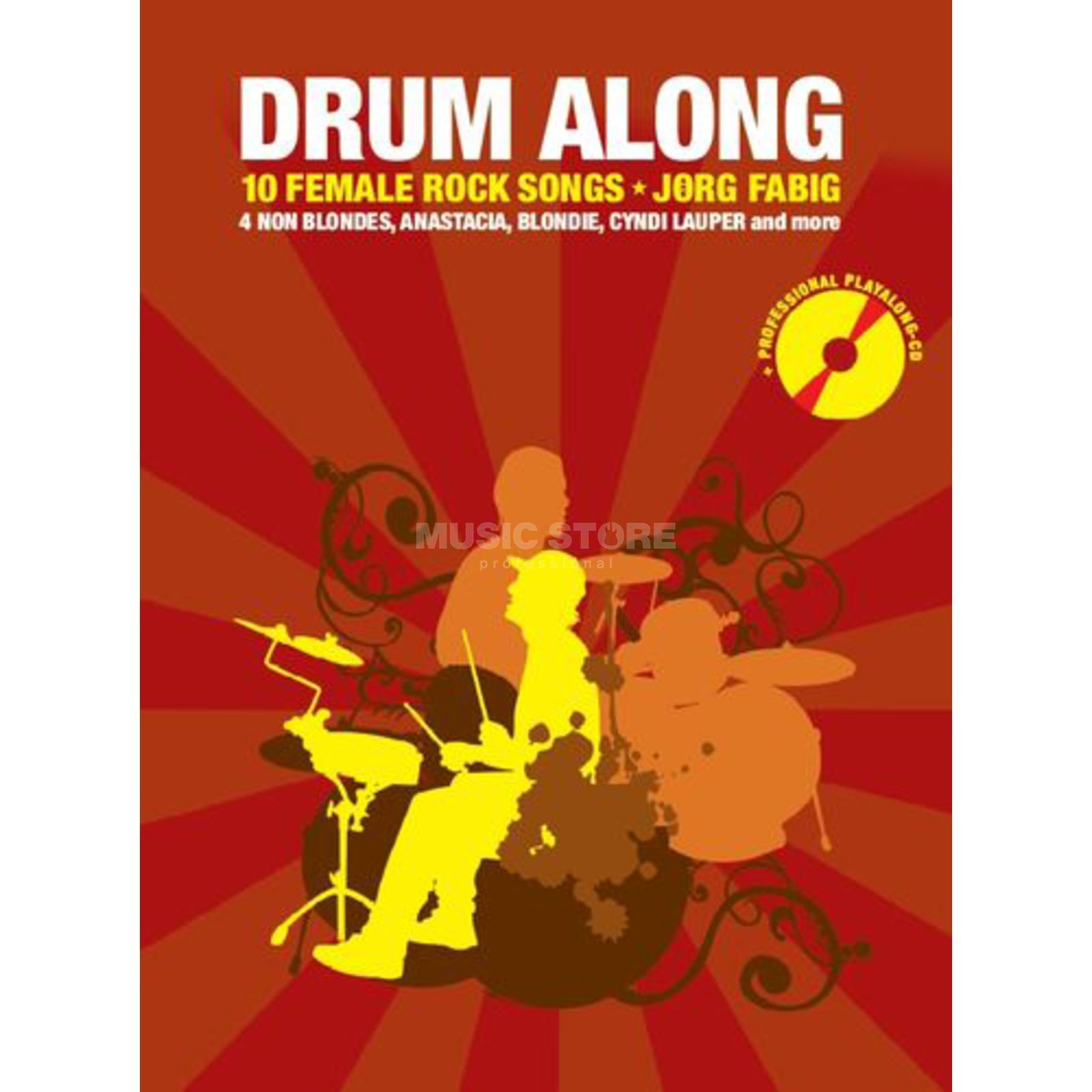 Bosworth Music Drum Along: 10 Female Rock Songs, Jörg Fabig Produktbild