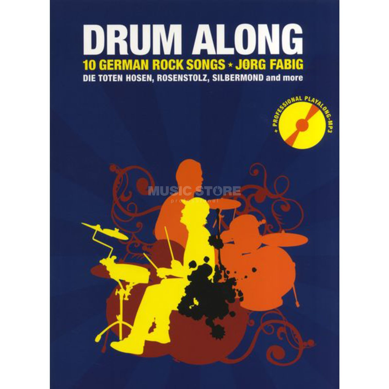 Bosworth Music Drum Along: 10 German Rock Songs, Jörg Fabig Produktbild
