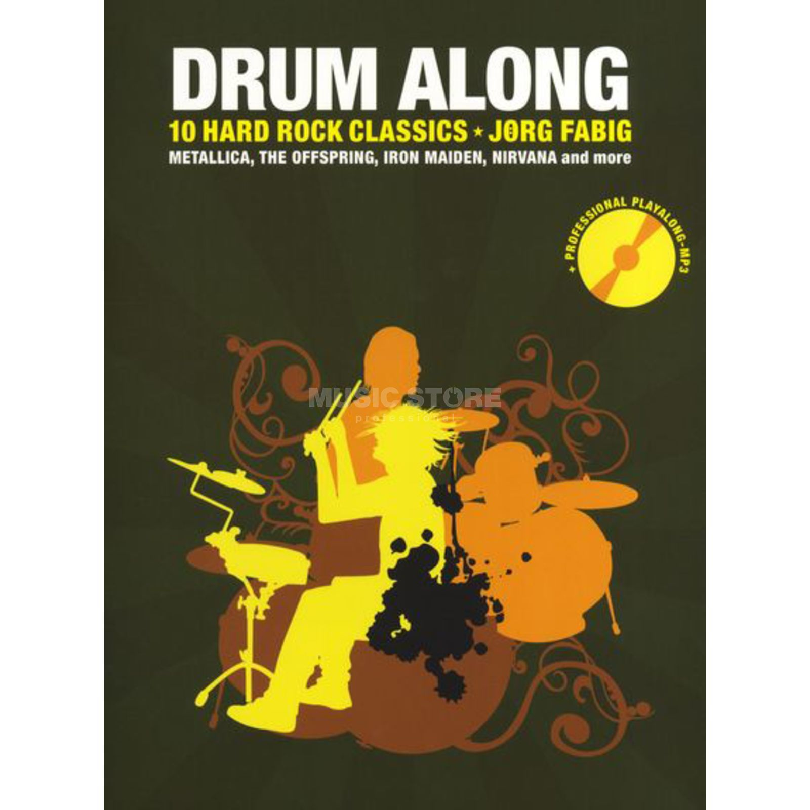 Bosworth Music Drum Along: 10 Hard Rock Classics, Jörg Fabig Produktbild