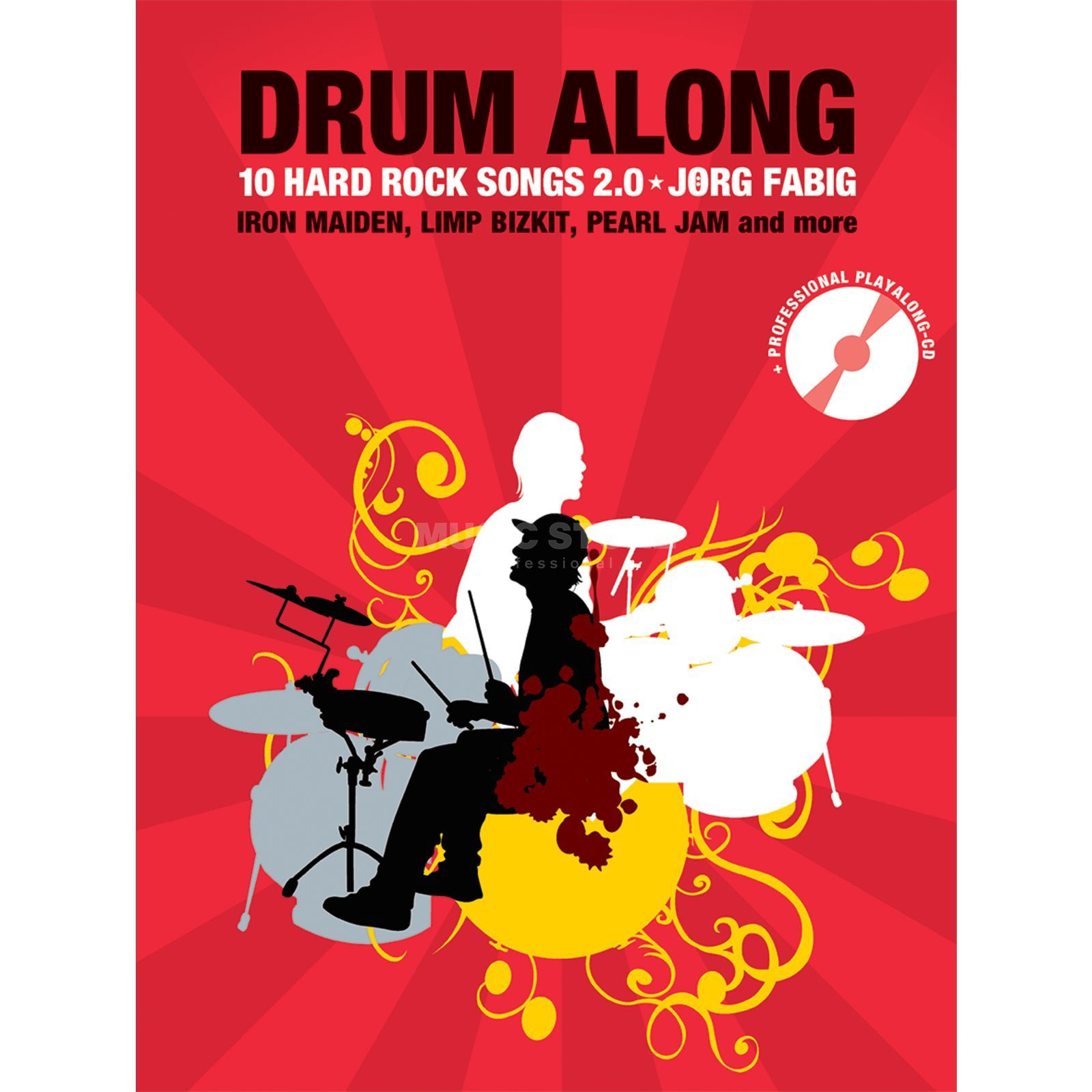 Bosworth Music Drum Along: 10 Hard Rock Songs 2.0, Jörg Fabig Produktbild