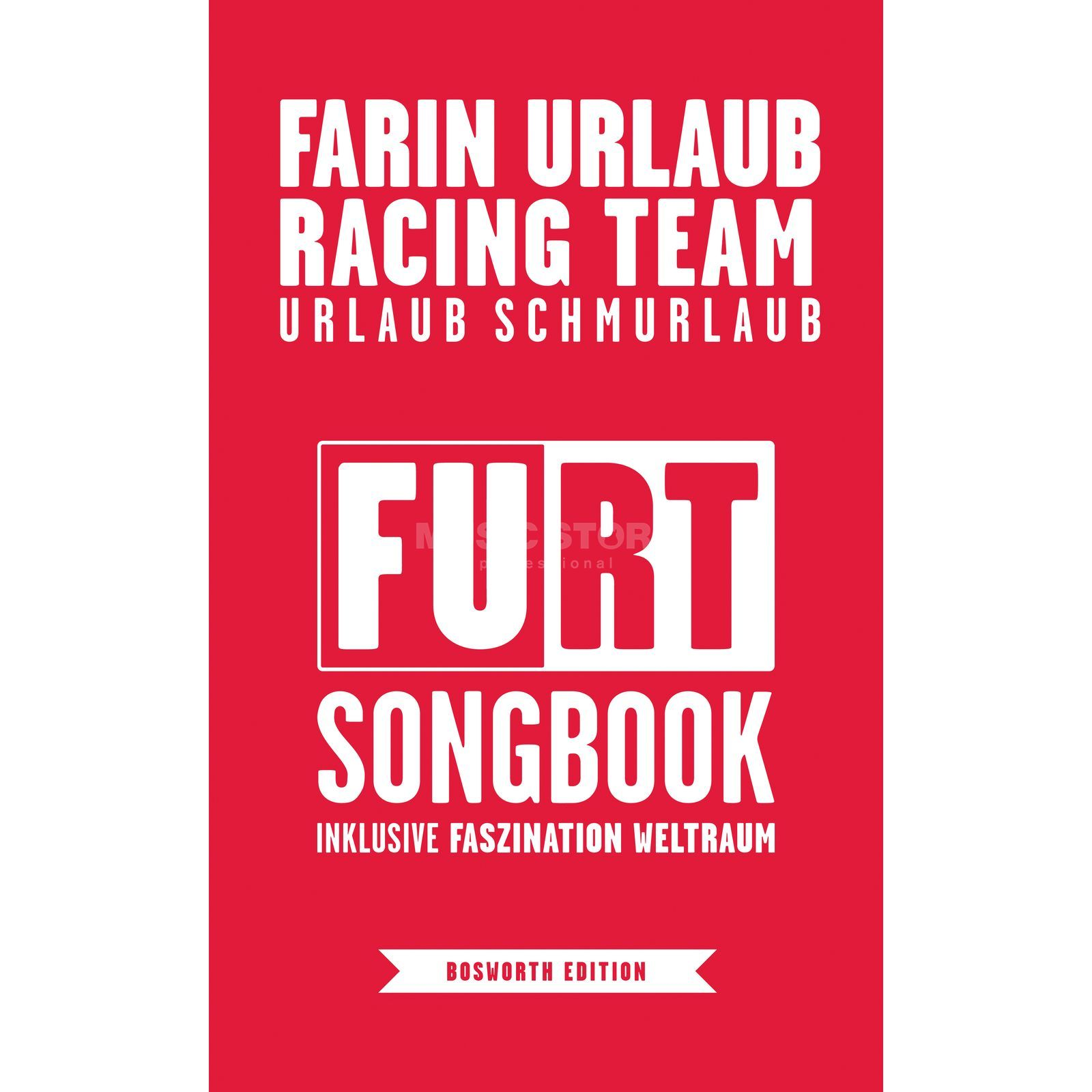 Bosworth Music Farin Urlaub Racing Team: Songbook Produktbillede