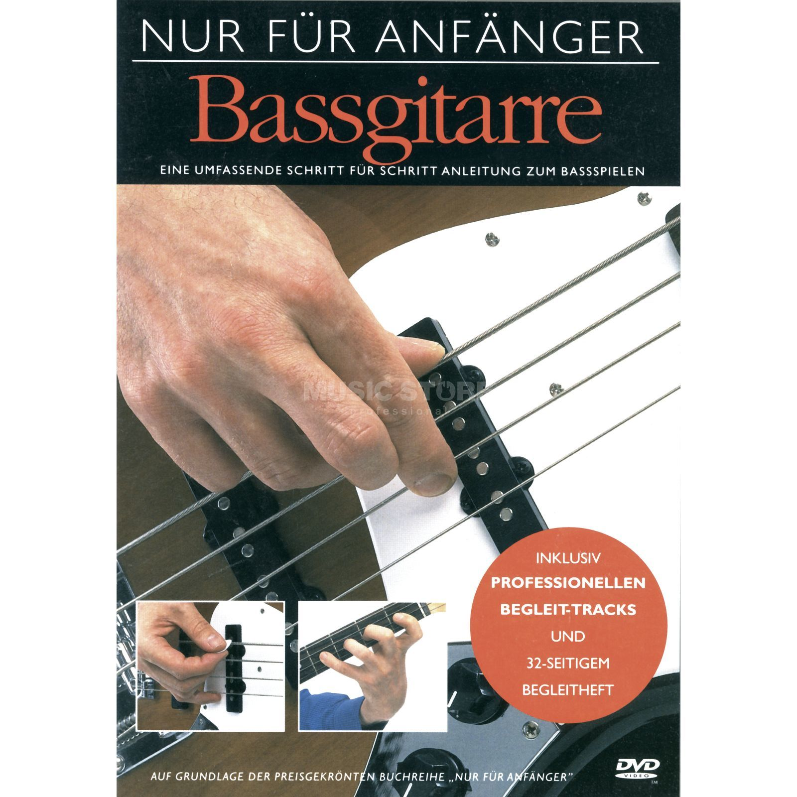 Bosworth Music For Beginners only- Bass - DVD  Produktbillede