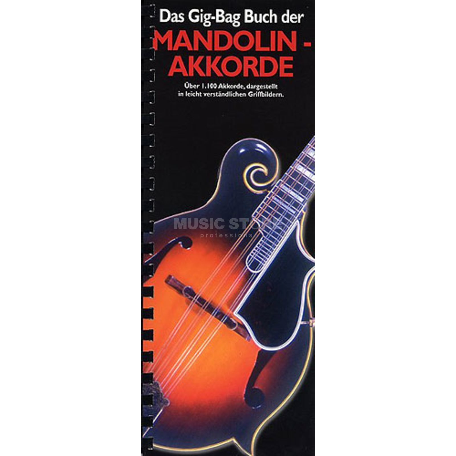 Bosworth Music Gig Bag Buch Mandolin-Akkorde  Produktbild