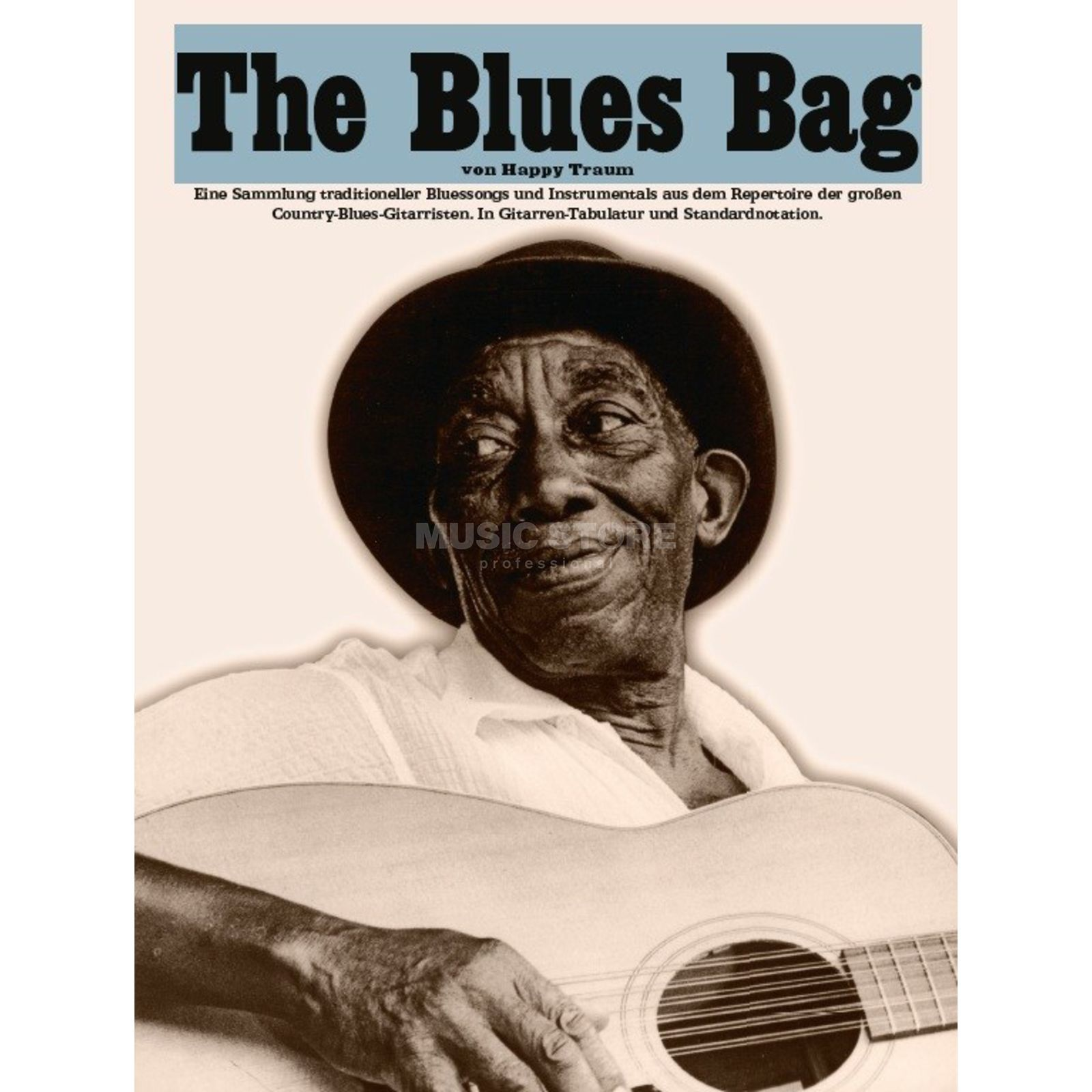 Bosworth Music Happy Traum: The Blues Bag Guitar Produktbillede