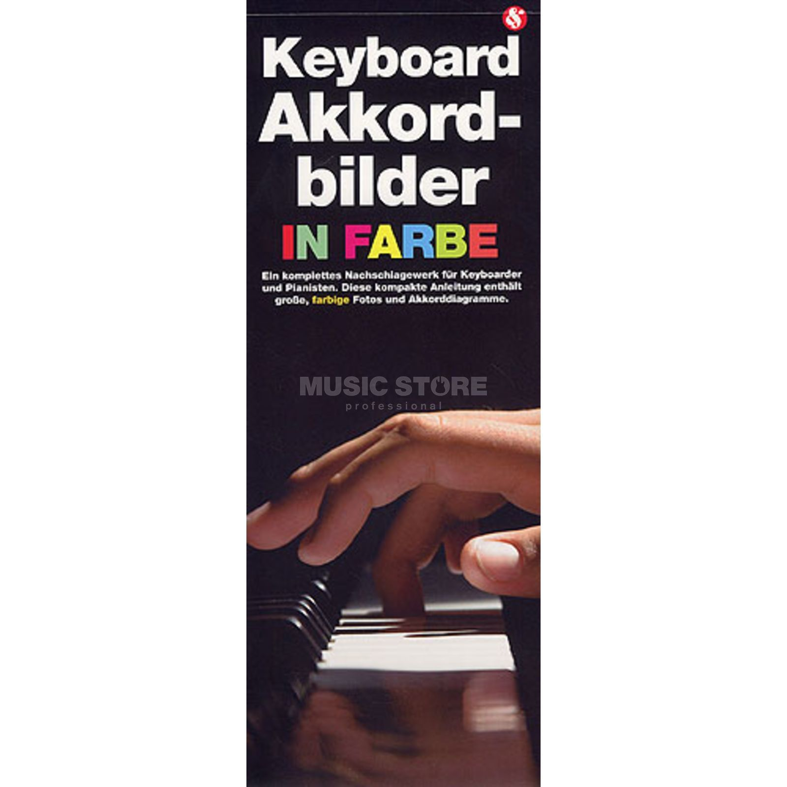 Bosworth Music Keyboard Akkordbilder in Farbe  Produktbild