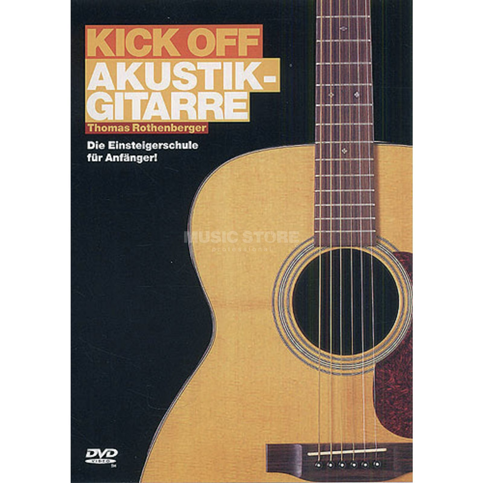 Bosworth Music Kick off - Akustikgitarre DVD Produktbillede