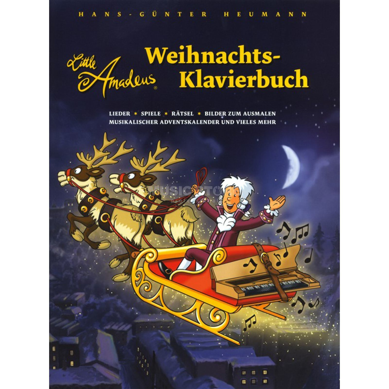 Bosworth Music Little Amadeus - Weihnachts-Klavierbuch Изображение товара