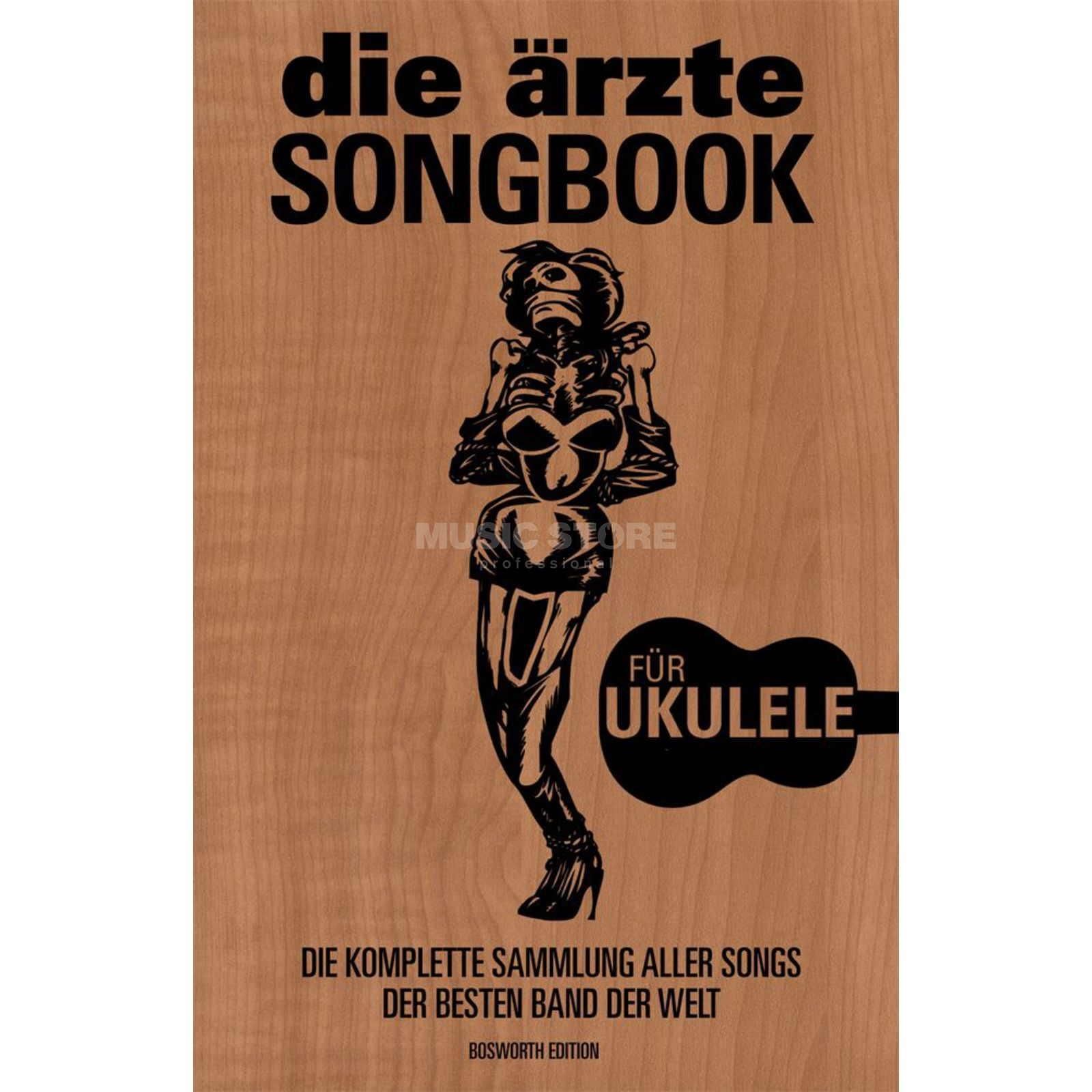Bosworth Music Little Black Book Die Ärzte Ukulele Produktbild