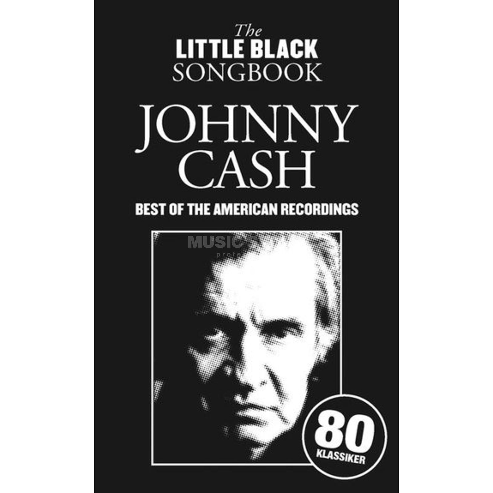 Bosworth Music Little Black Book Johnny Cash Best of Lyrics, Chords Produktbillede