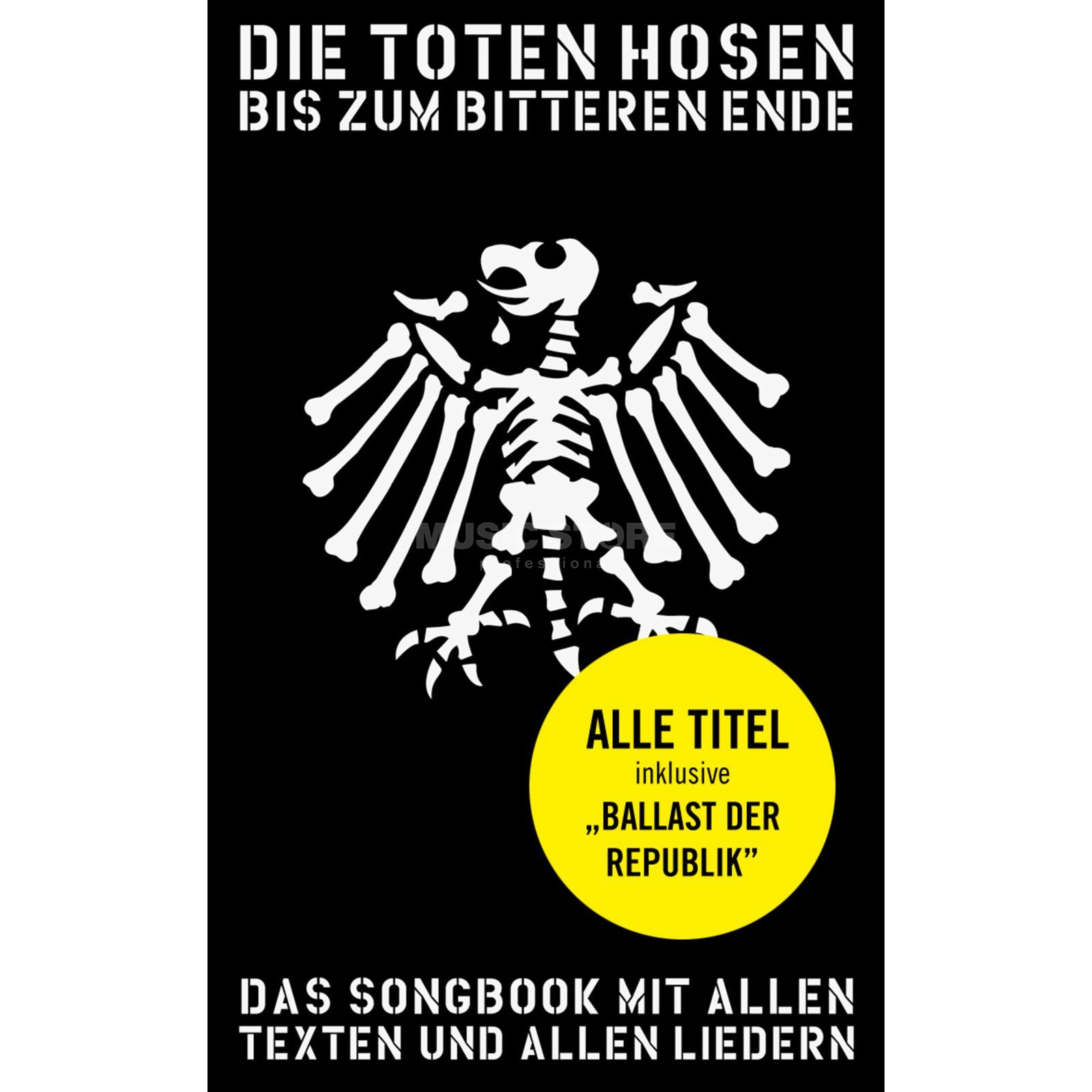 Bosworth Music Little Black Book Toten Hosen Lyrics, Chords Produktbild