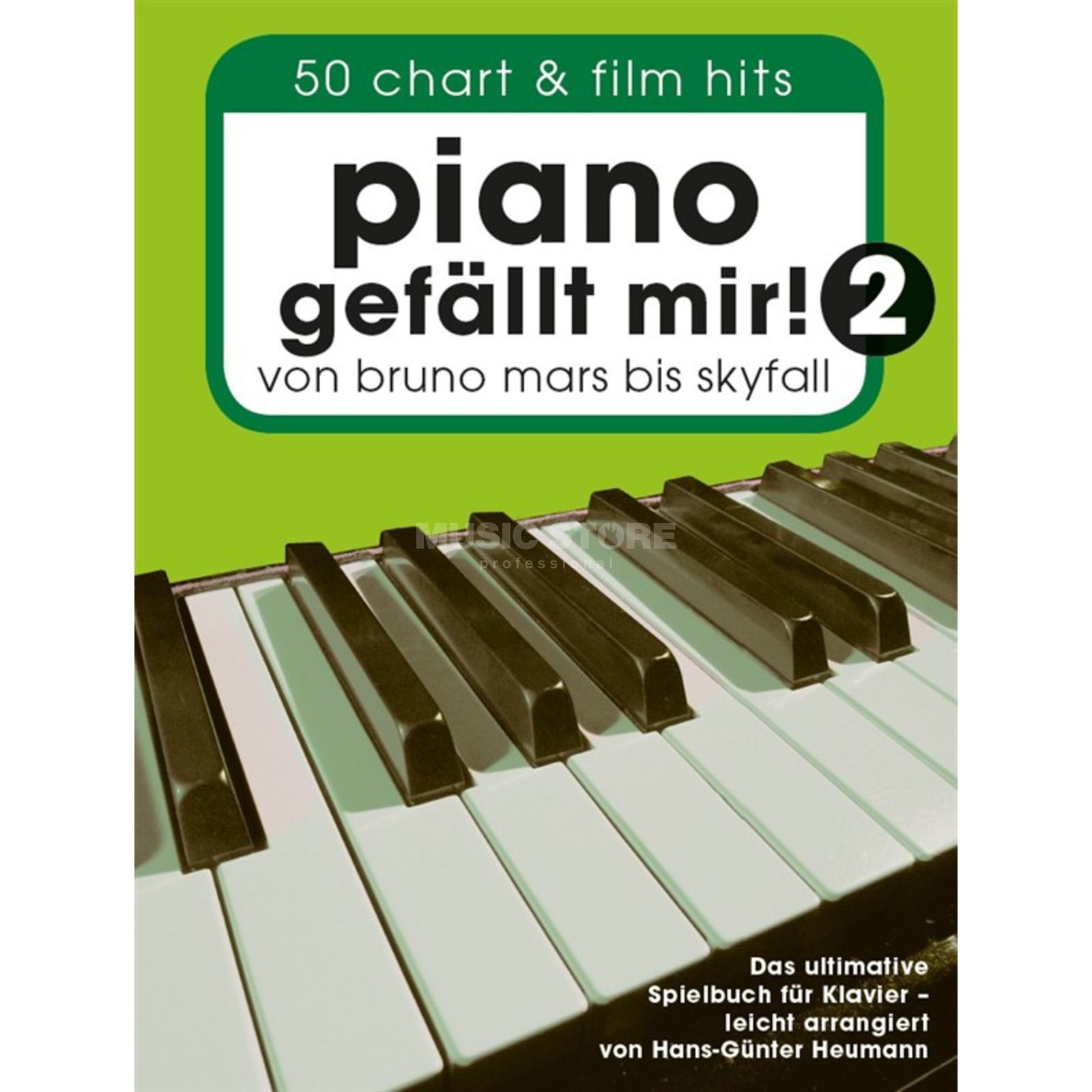 Bosworth Music Piano gefällt mir! 50 Chart & Film Hits 2, Spiralbindung Product Image
