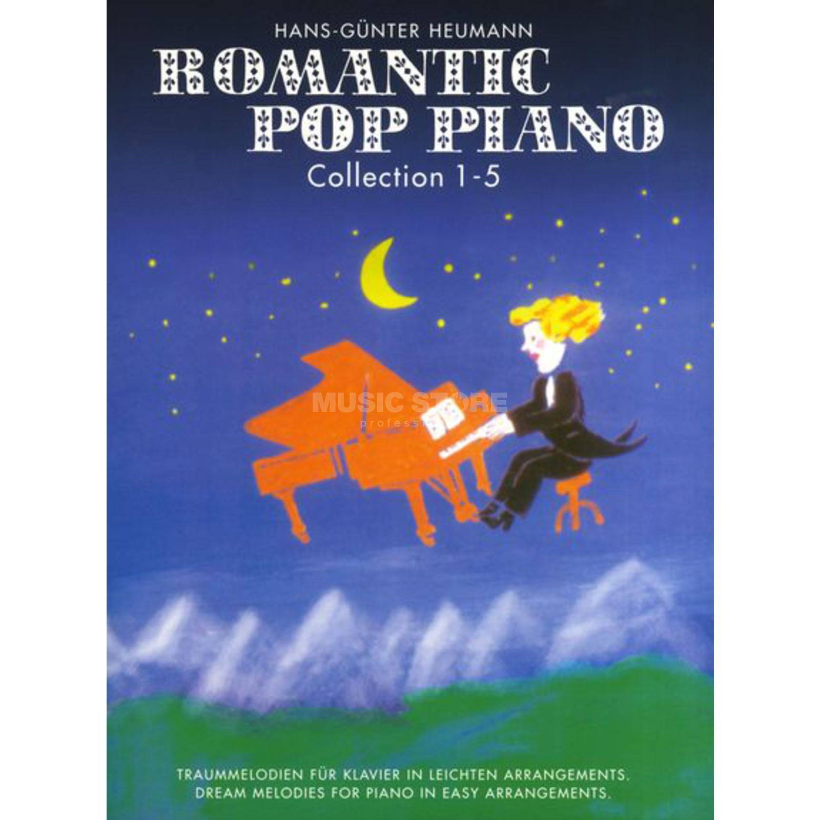Bosworth Music Romantic Pop Piano 1-5 Hans-Günter Heumann, Piano Produktbild