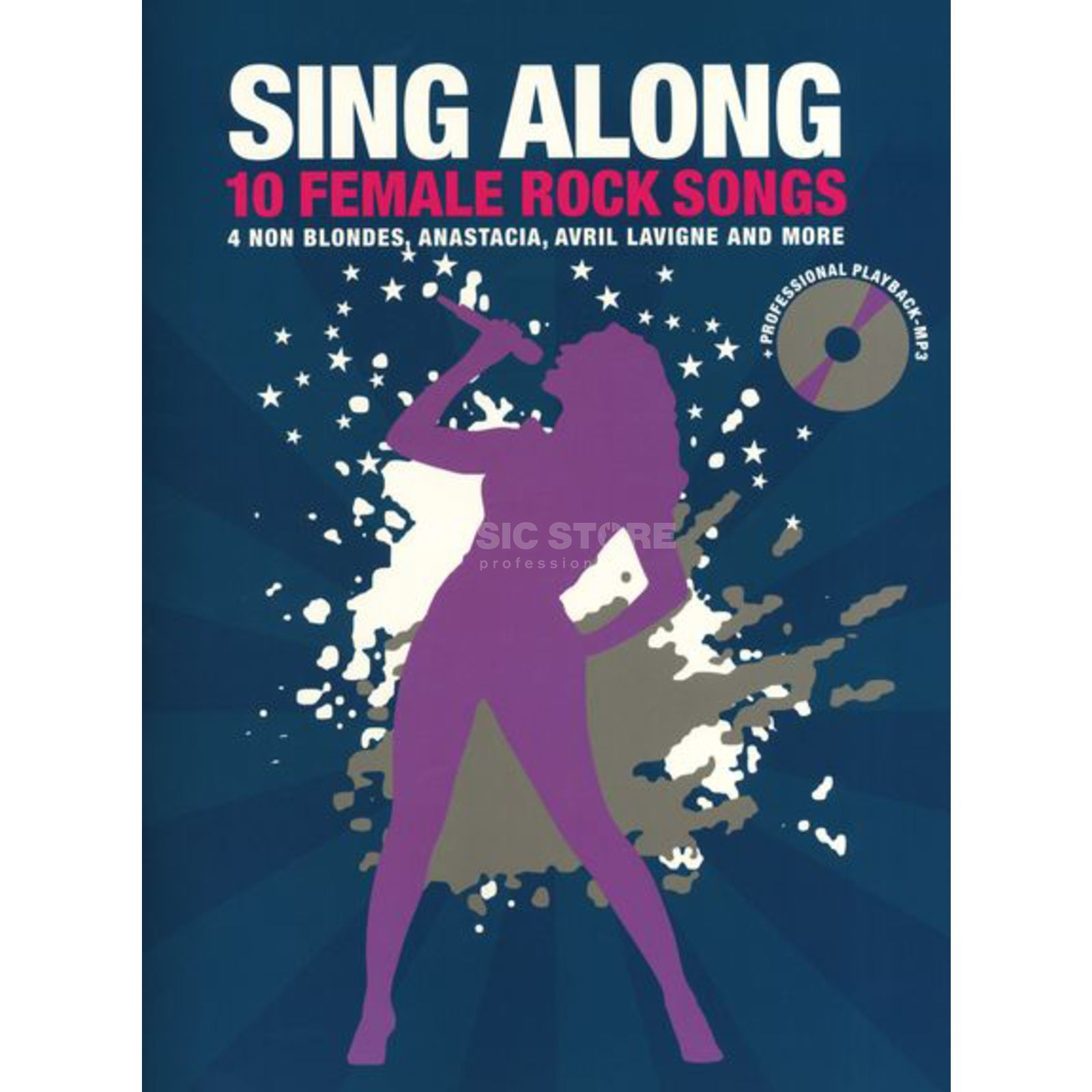 Bosworth Music Sing Along 10 Female Rock Song Buch und CD Produktbild