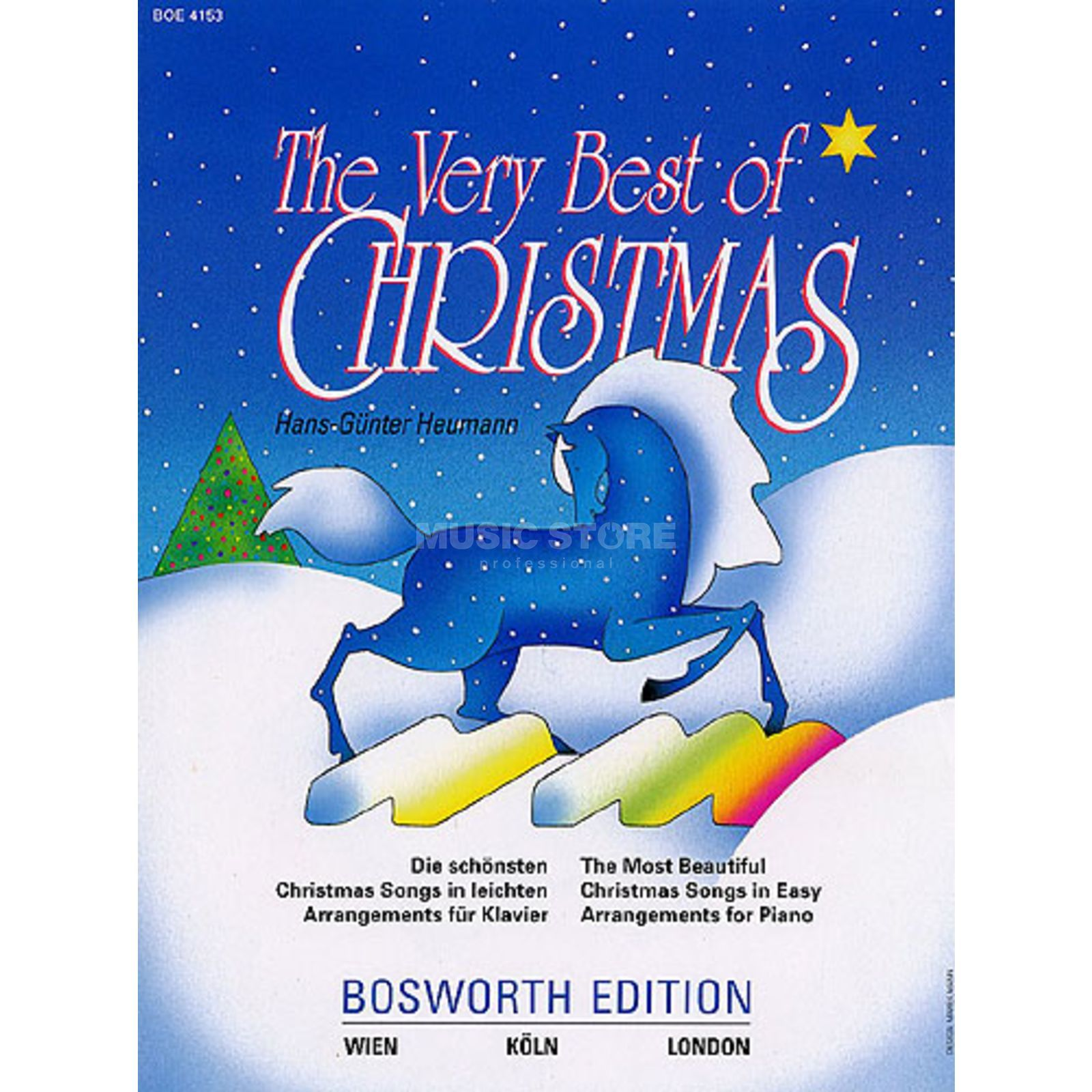 Bosworth Music The Very Best Of Christmas Piano Produktbild