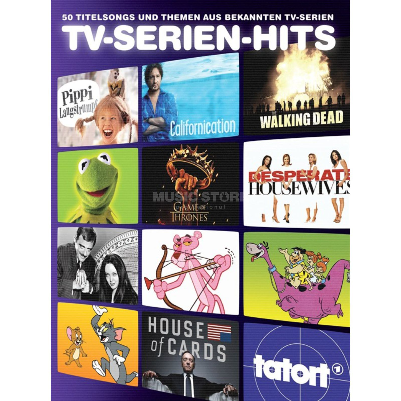 Bosworth Music TV-Serien-Hits PVG Produktbillede