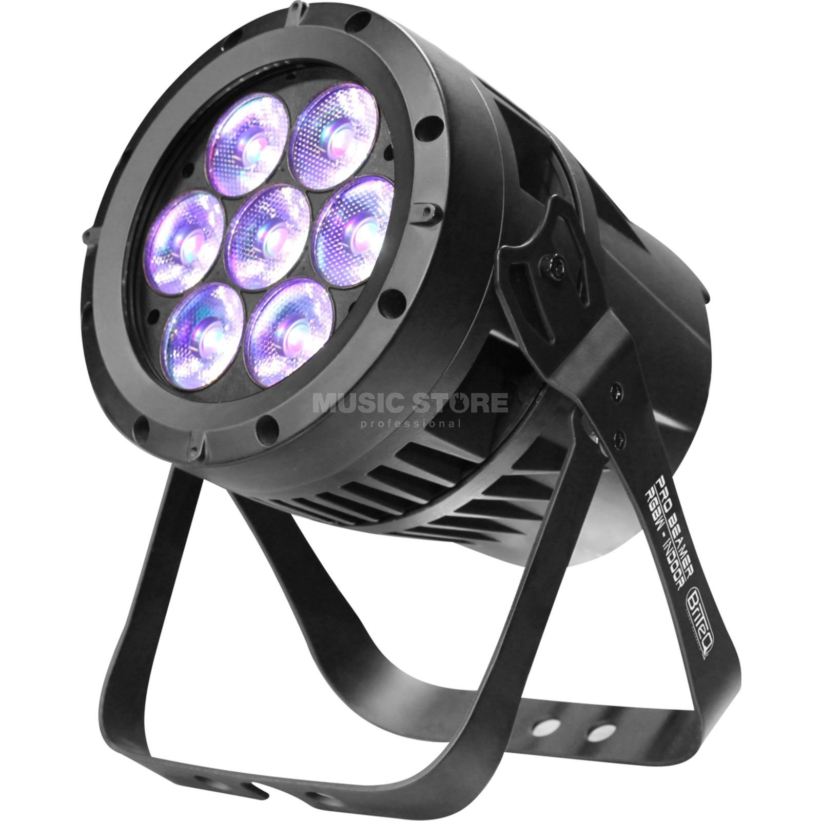 Briteq Pro Beamer RGBW - INDOOR 7x 12W Quad-Color LEDs Produktbillede