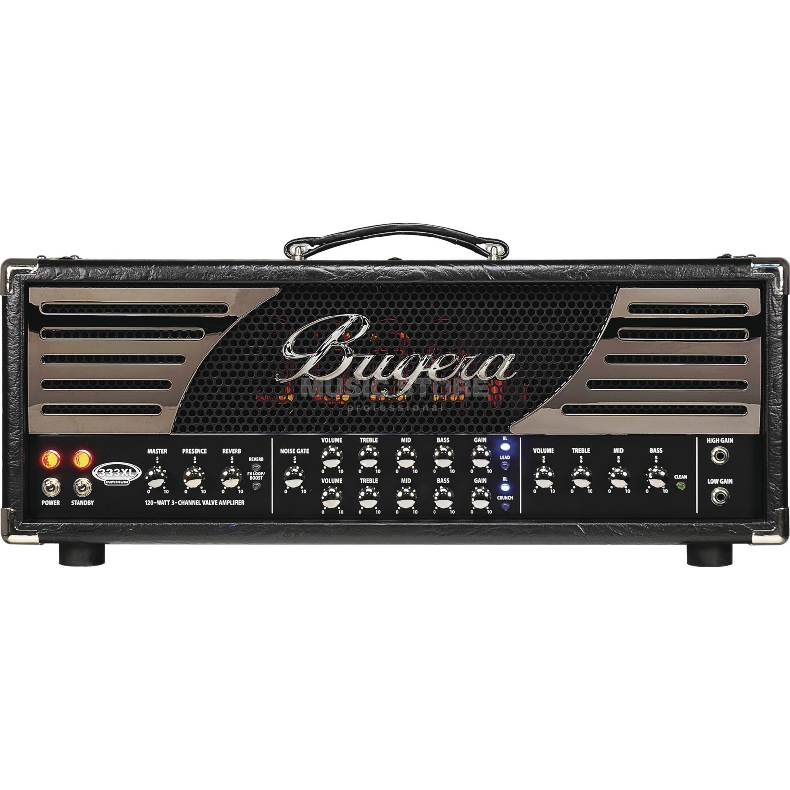 Bugera 333XL Infinium Valve Guitar Am p Head   Product Image
