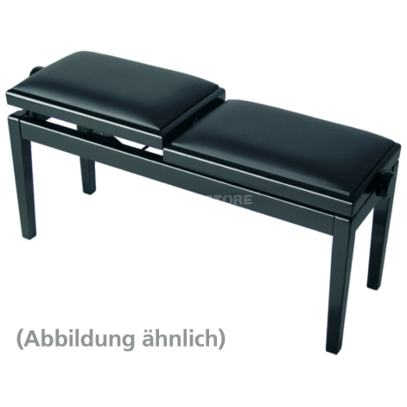 Burghardt B245 SE Duetbank / FabricCover double-sided adjustable Produktbillede