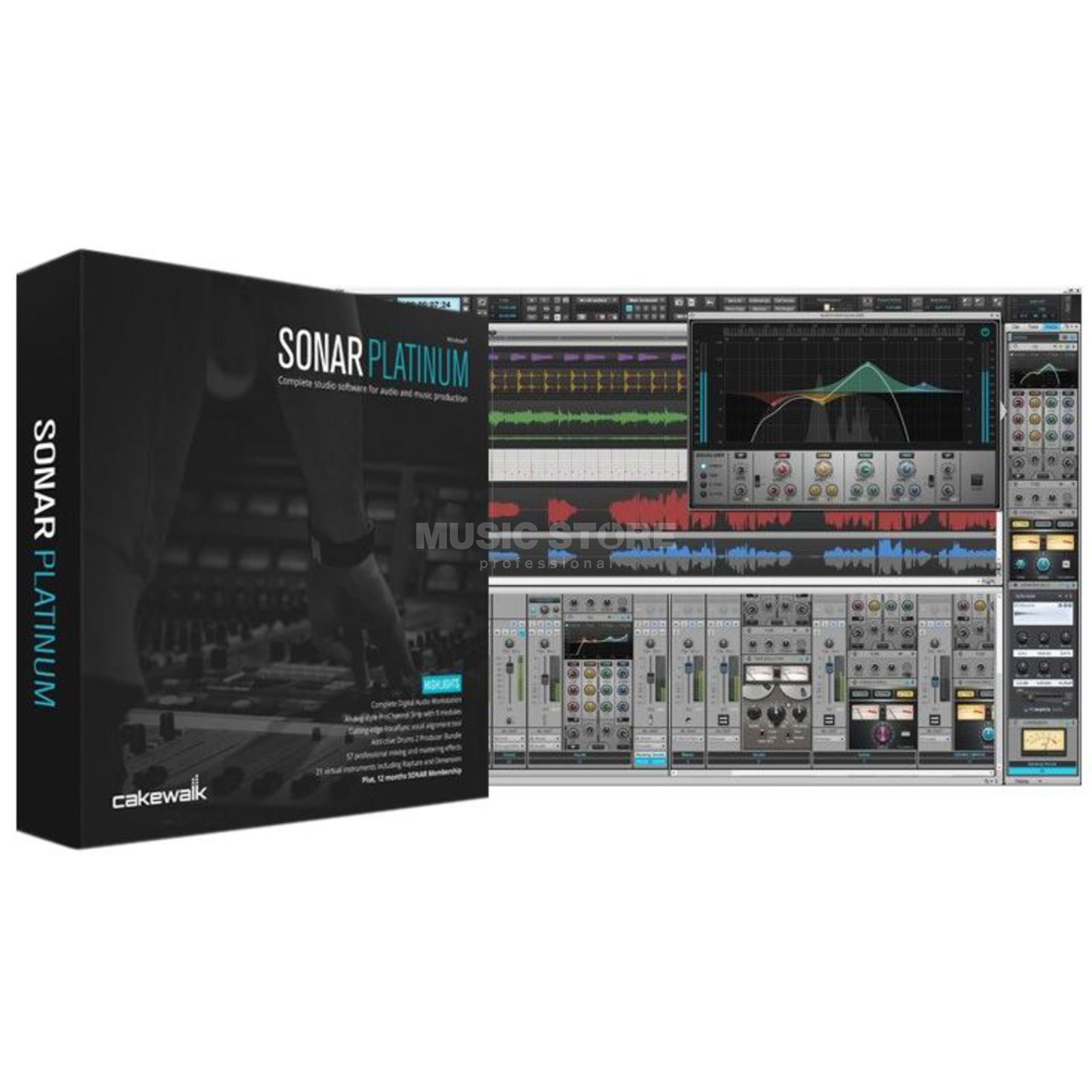 Cakewalk Sonar Platinum Boxed Version Produktbild