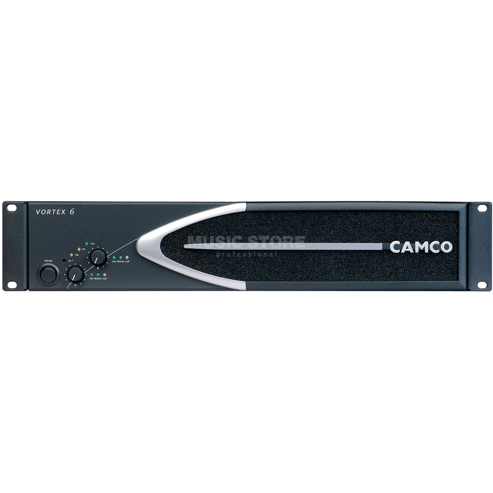Camco Vortex 6, Power Amplifier 2 x 2300 Watt / 4 Ohm Produktbillede