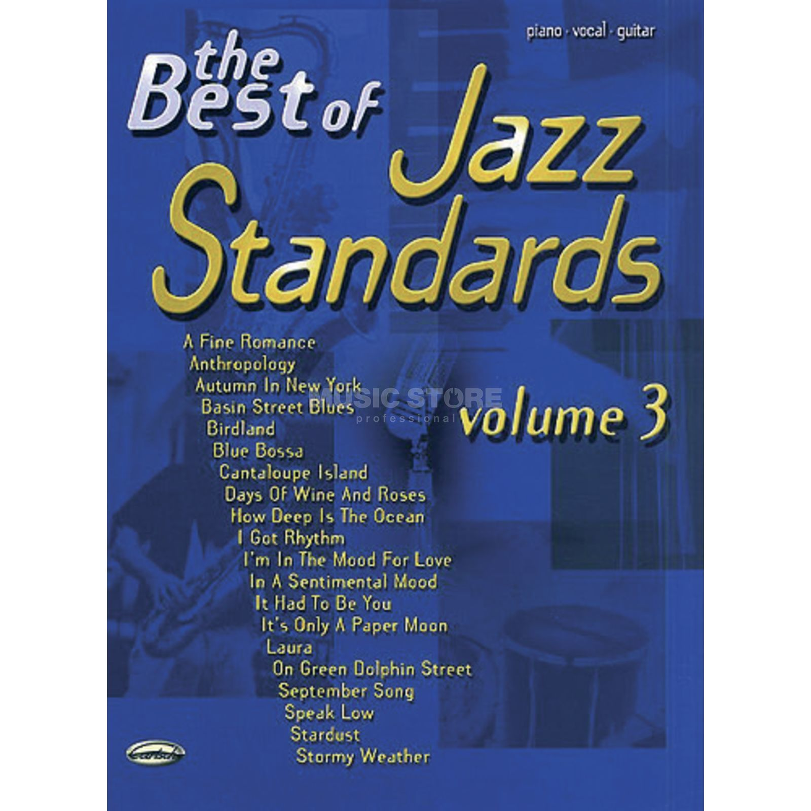 Carisch-Verlag The Best Of Jazz Standards: Volume 3 Produktbillede