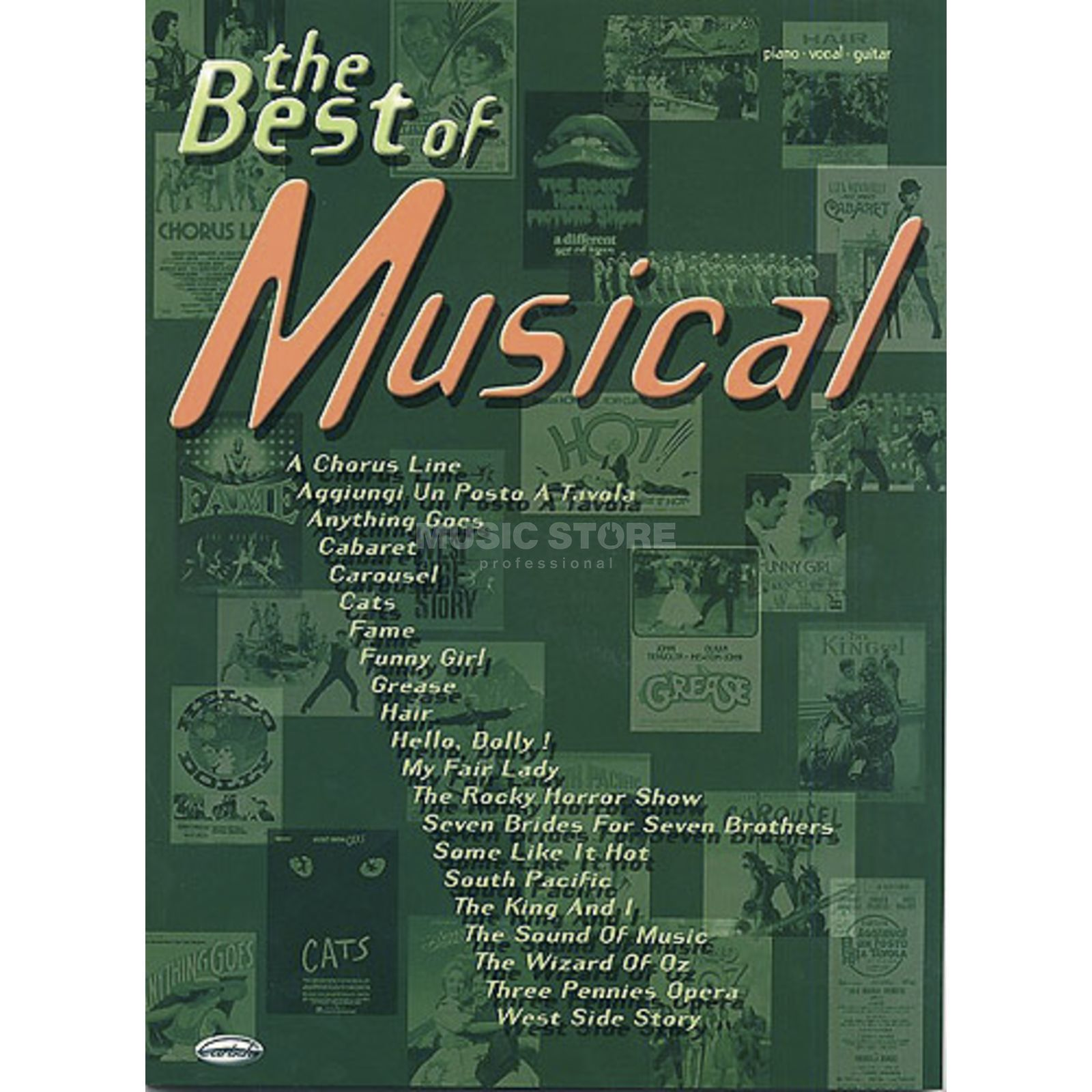 Carisch-Verlag The Best Of Musical Produktbild
