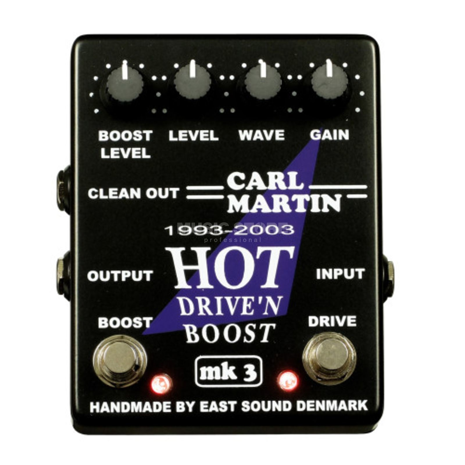Carl Martin Hot Drive´n Boost MK3 two in one overdrive/booster Produktbillede