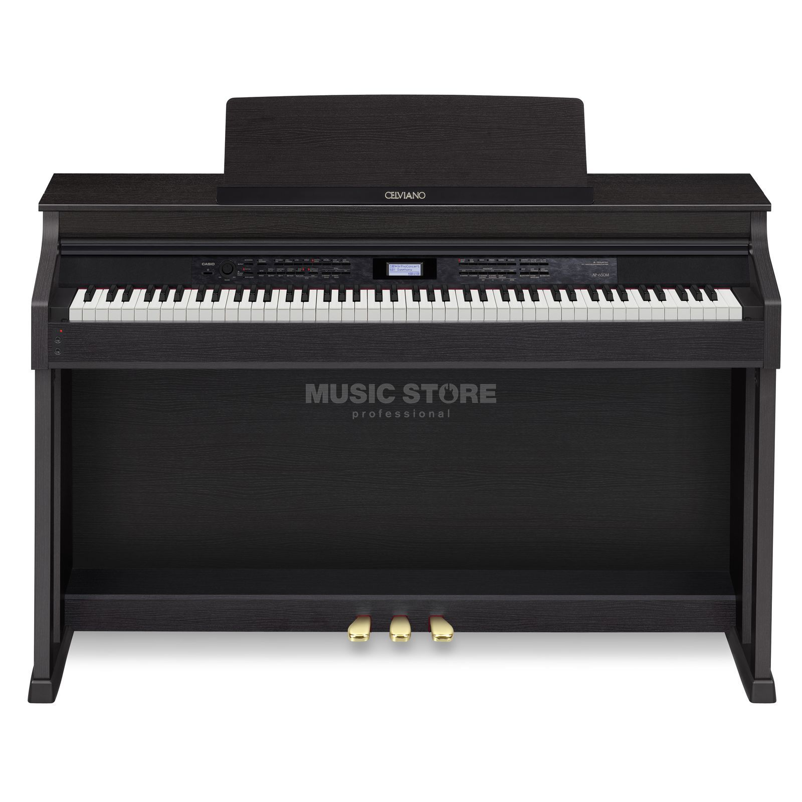 Casio AP 650M BK Digital Piano Black Product Image