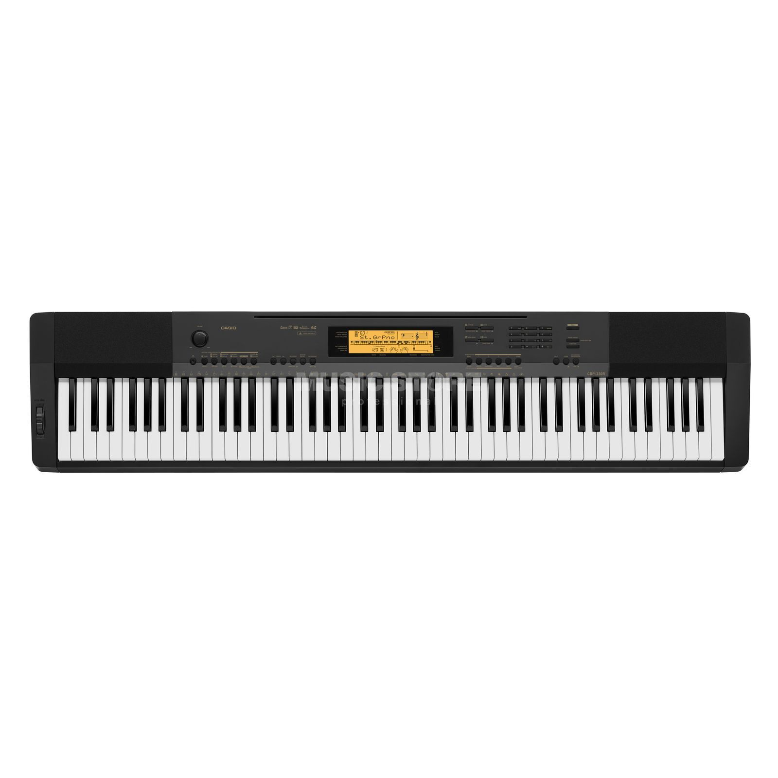 Casio CDP-230 R BK Ditital Piano Black Produktbillede