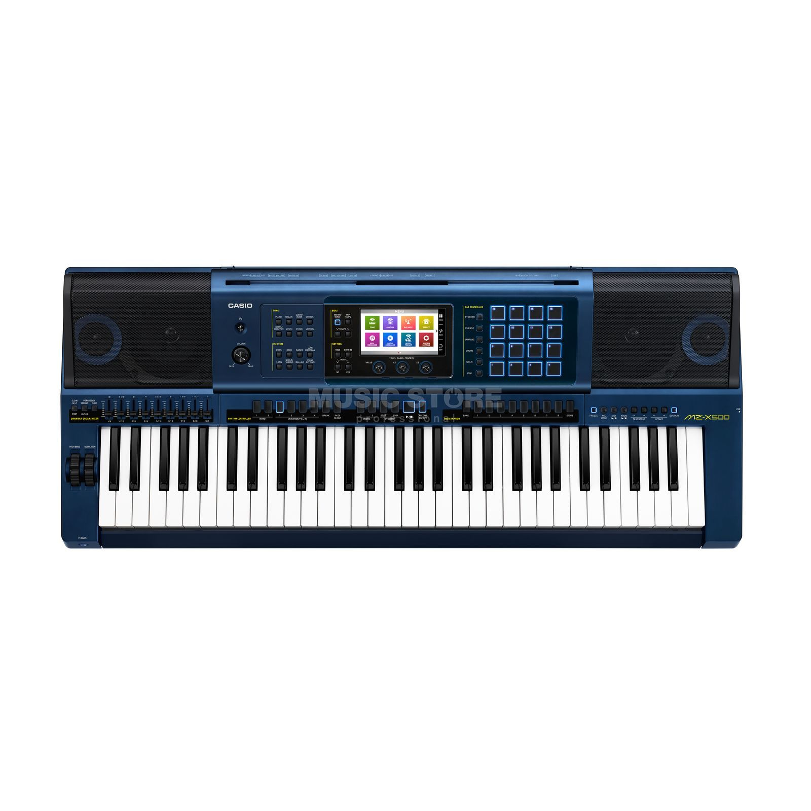 Casio MZ-X500 Premium Entertainer Keyboard Produktbillede