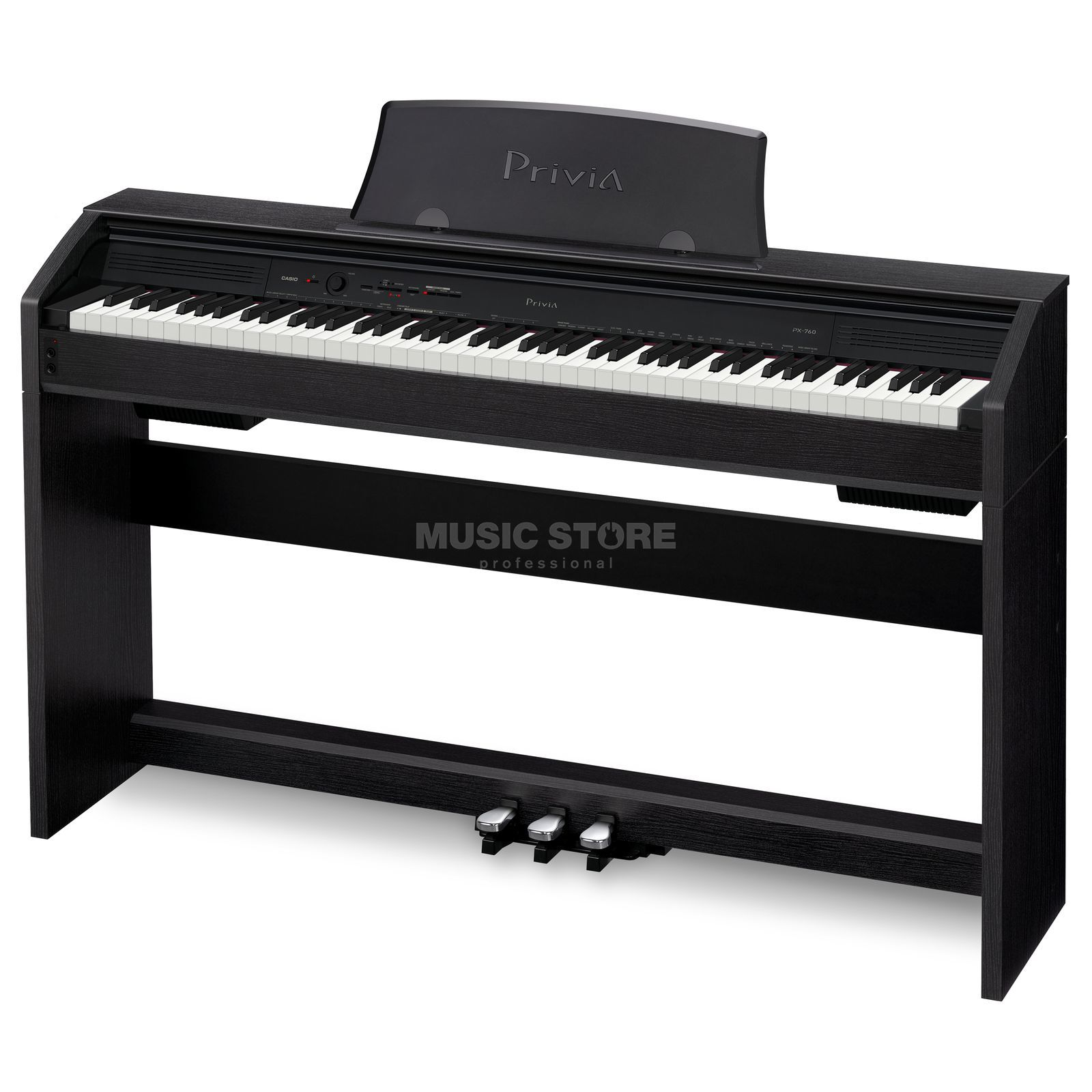 Casio PX 760 BK Digital Piano Black Produktbillede