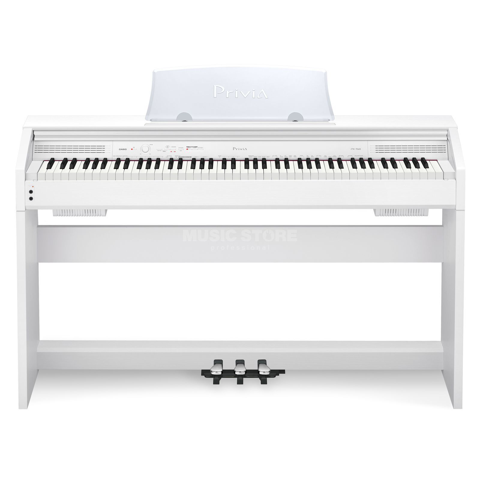 Casio PX 760 WE digitaal Piano wit Productafbeelding