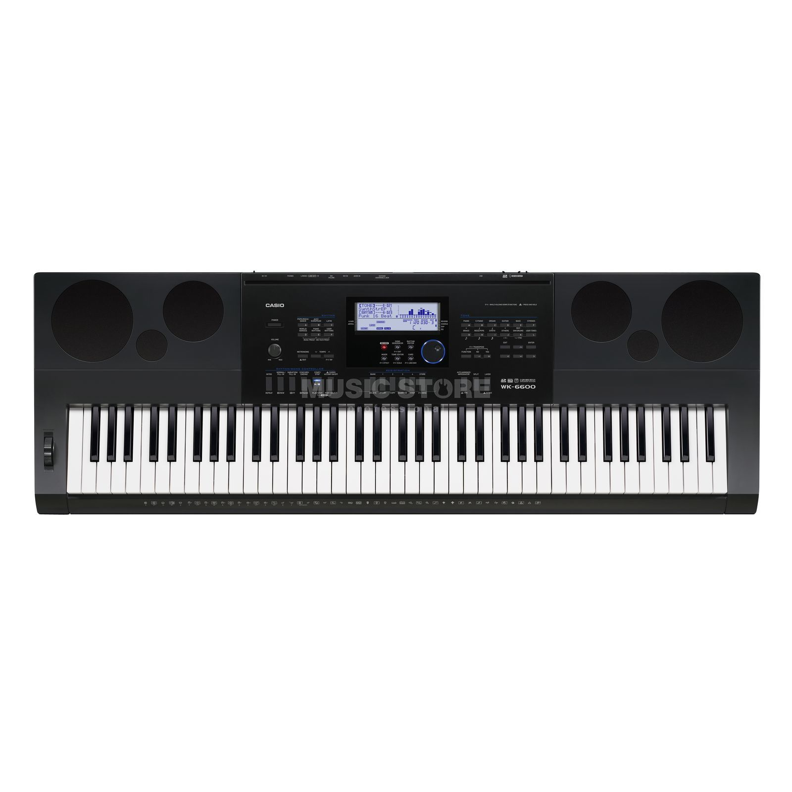 Casio WK-6600 Keyboard Produktbild