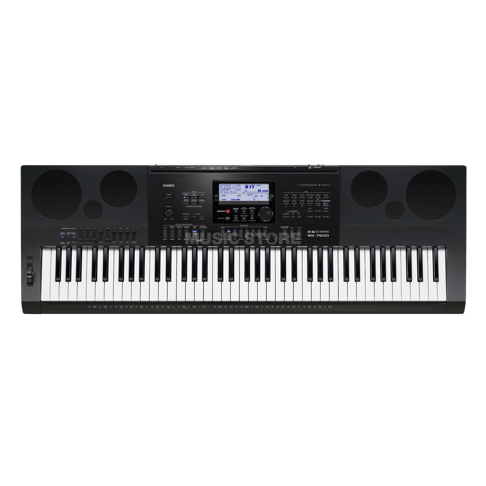 Casio WK-7600 Keyboard Produktbild