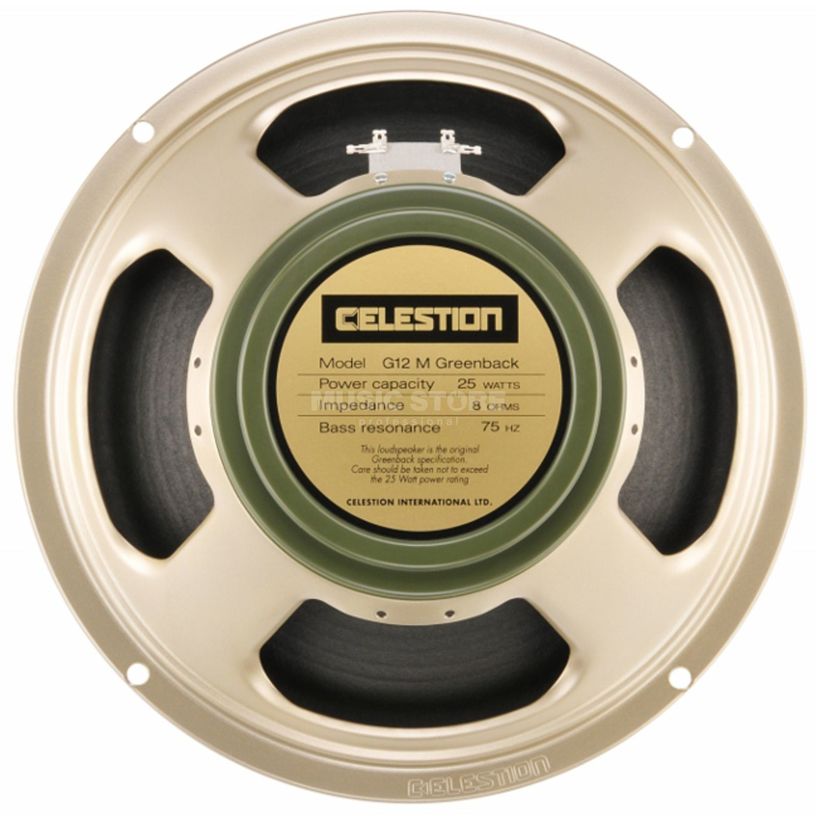 "Celestion G12M Greenback 12"" Speaker 8 Ohm Produktbild"