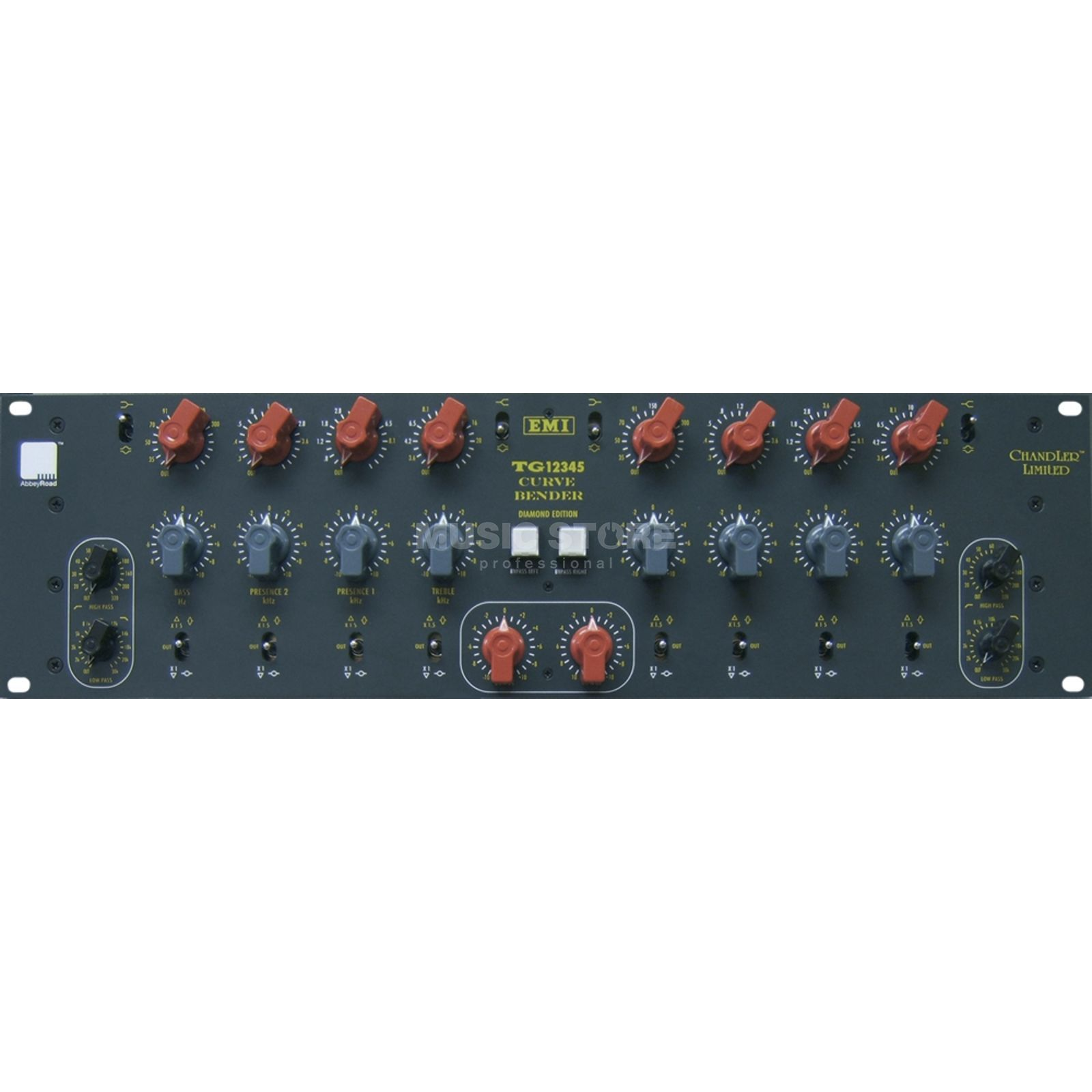 Chandler Limited TG 12345 Curve Bender Stereo/Dual Mono Equalizer Product Image