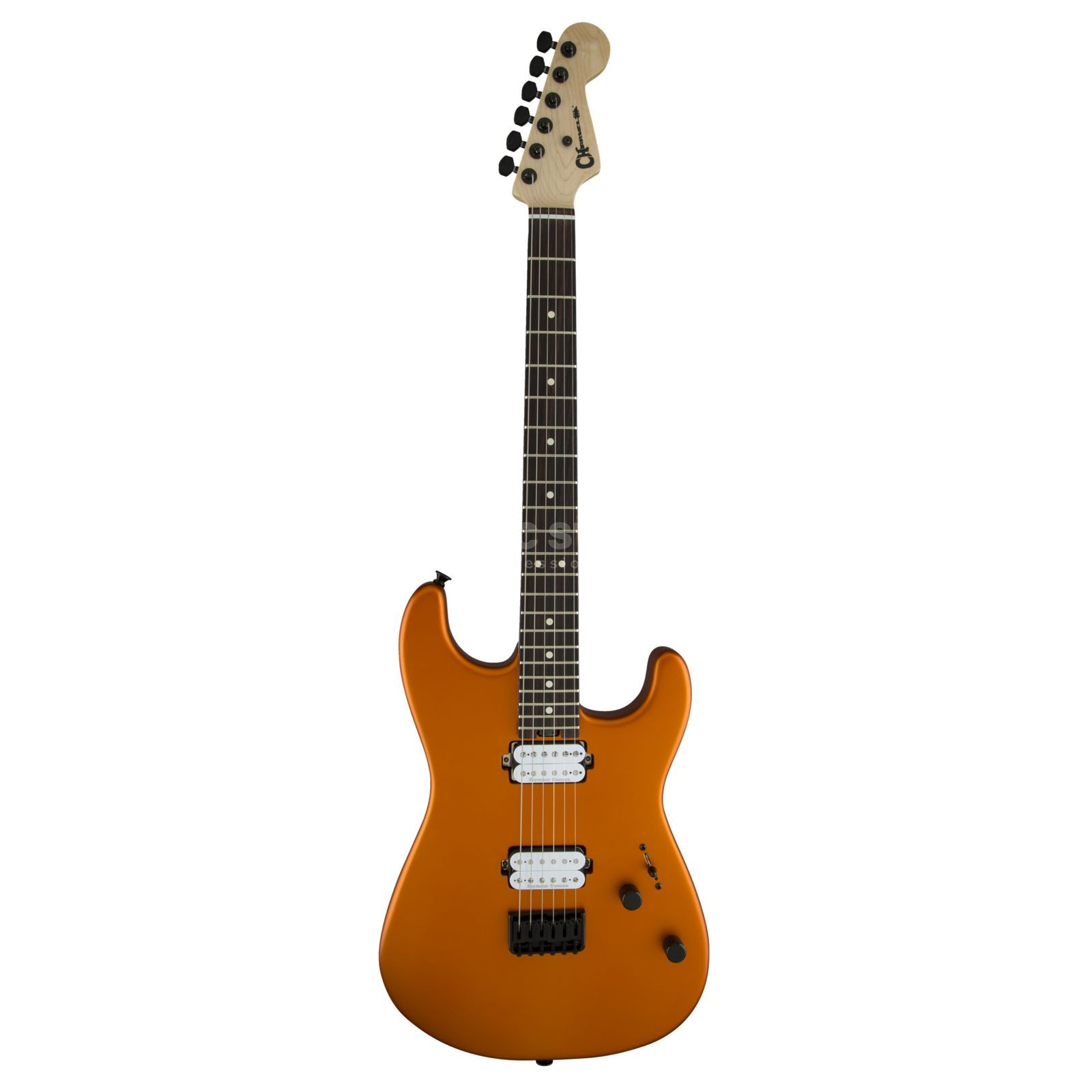 Charvel PM SD1 HH HT Satin Orange Blaze Produktbild