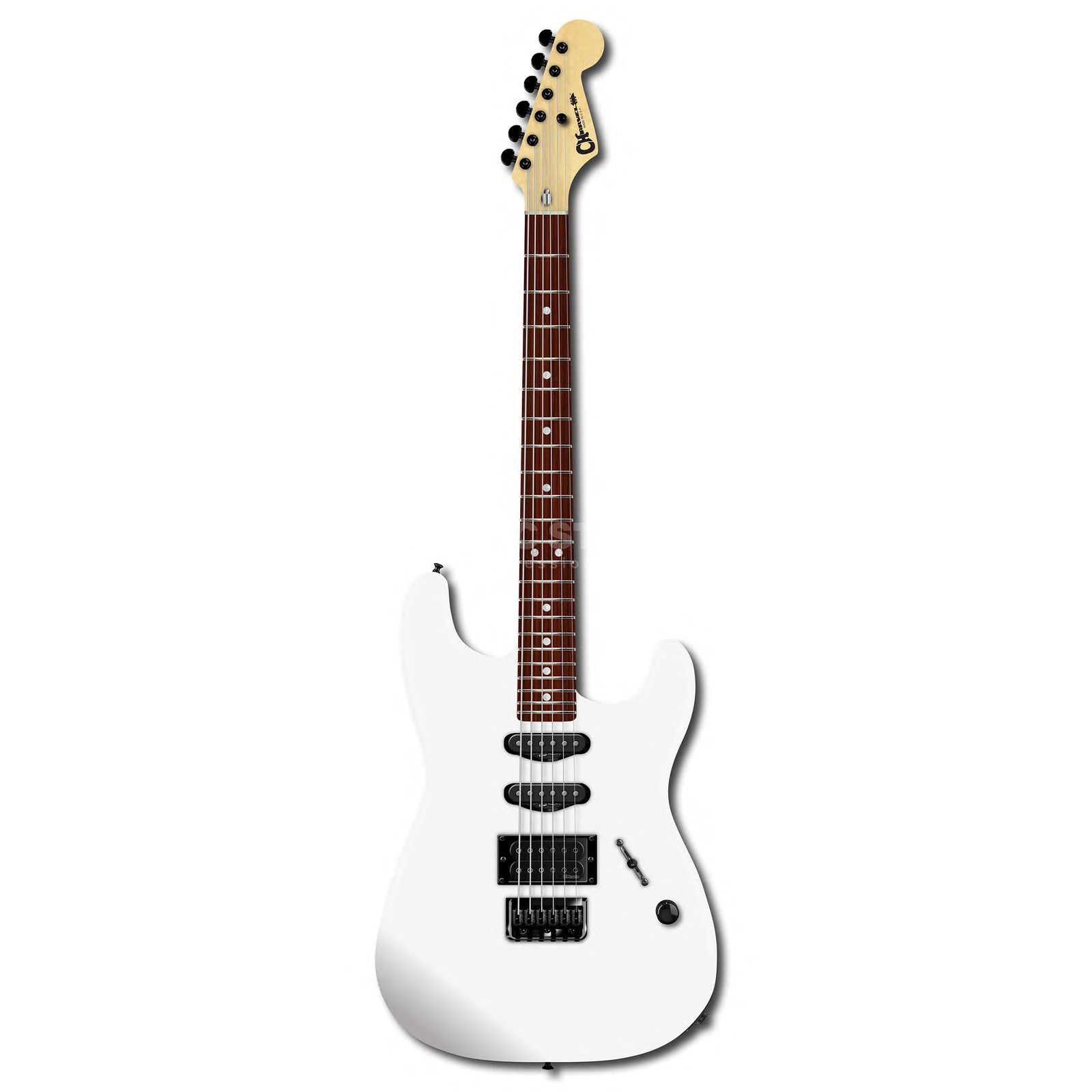 Charvel USA Select San Dimas Style 1 HSS HT Snow Blind Satin Изображение товара