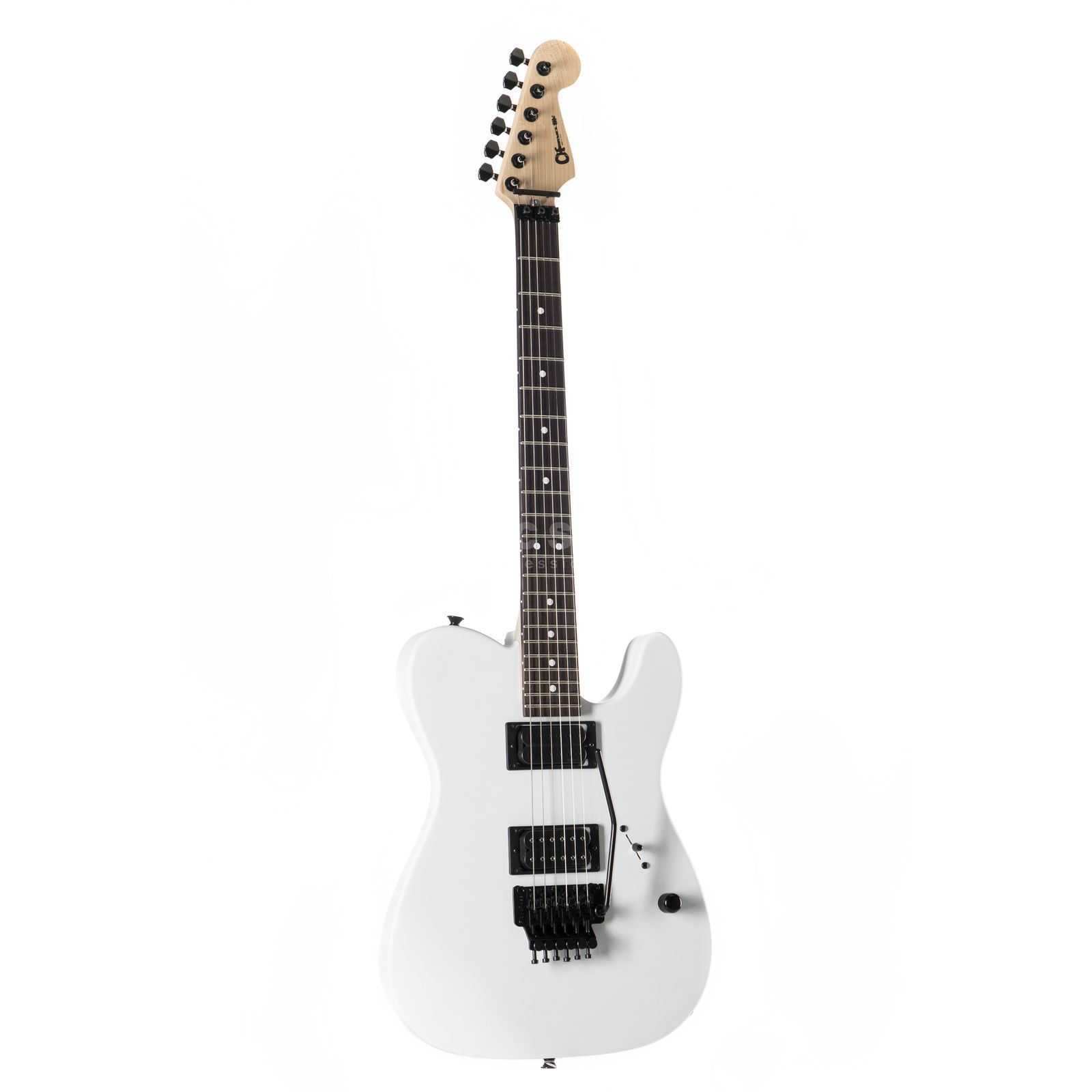 Charvel USA Select San Dimas Style 2 HH FR Snow Blind Satin Imagen del producto