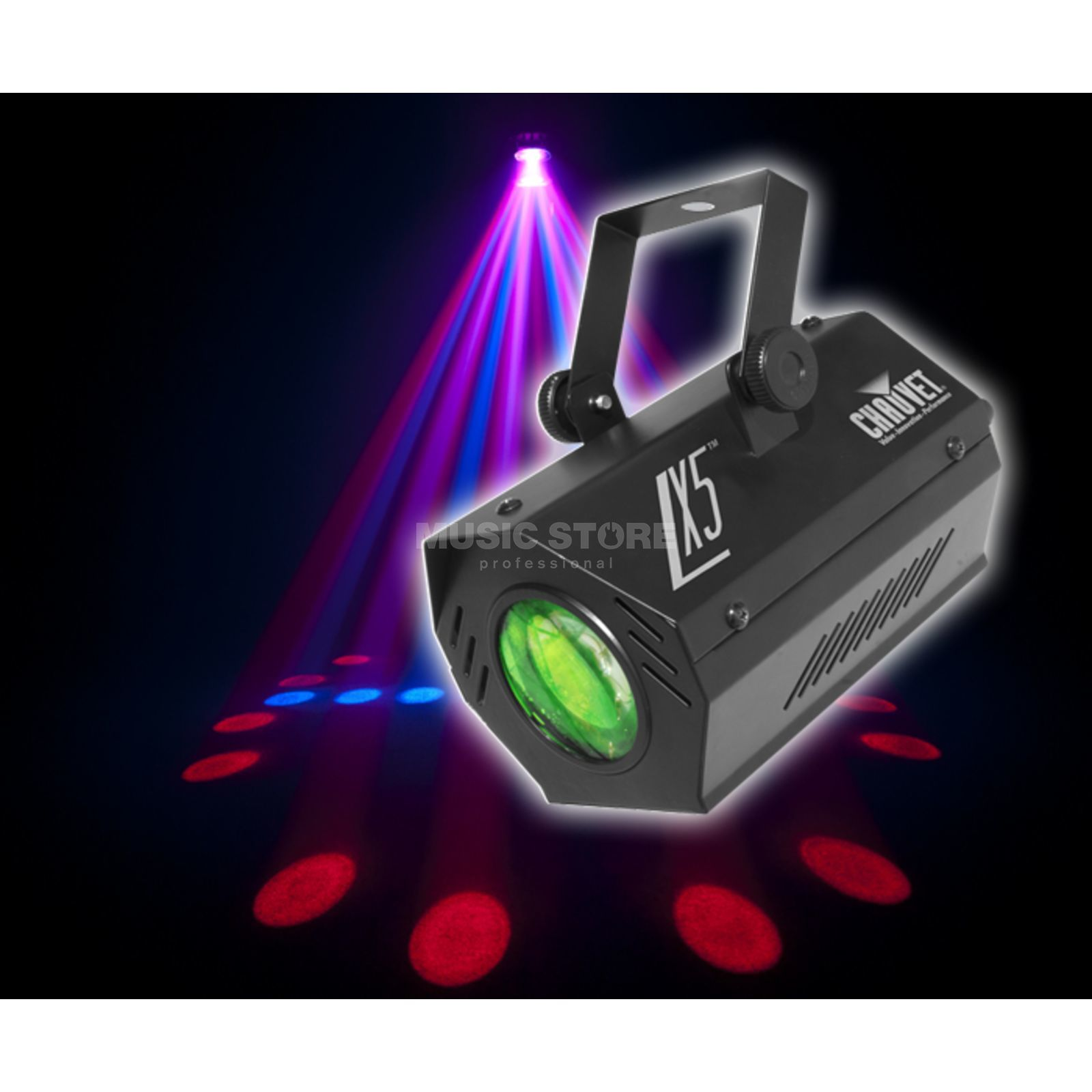 Chauvet DJ LX5 57 LEDs 0,25W Moonflower Produktbild