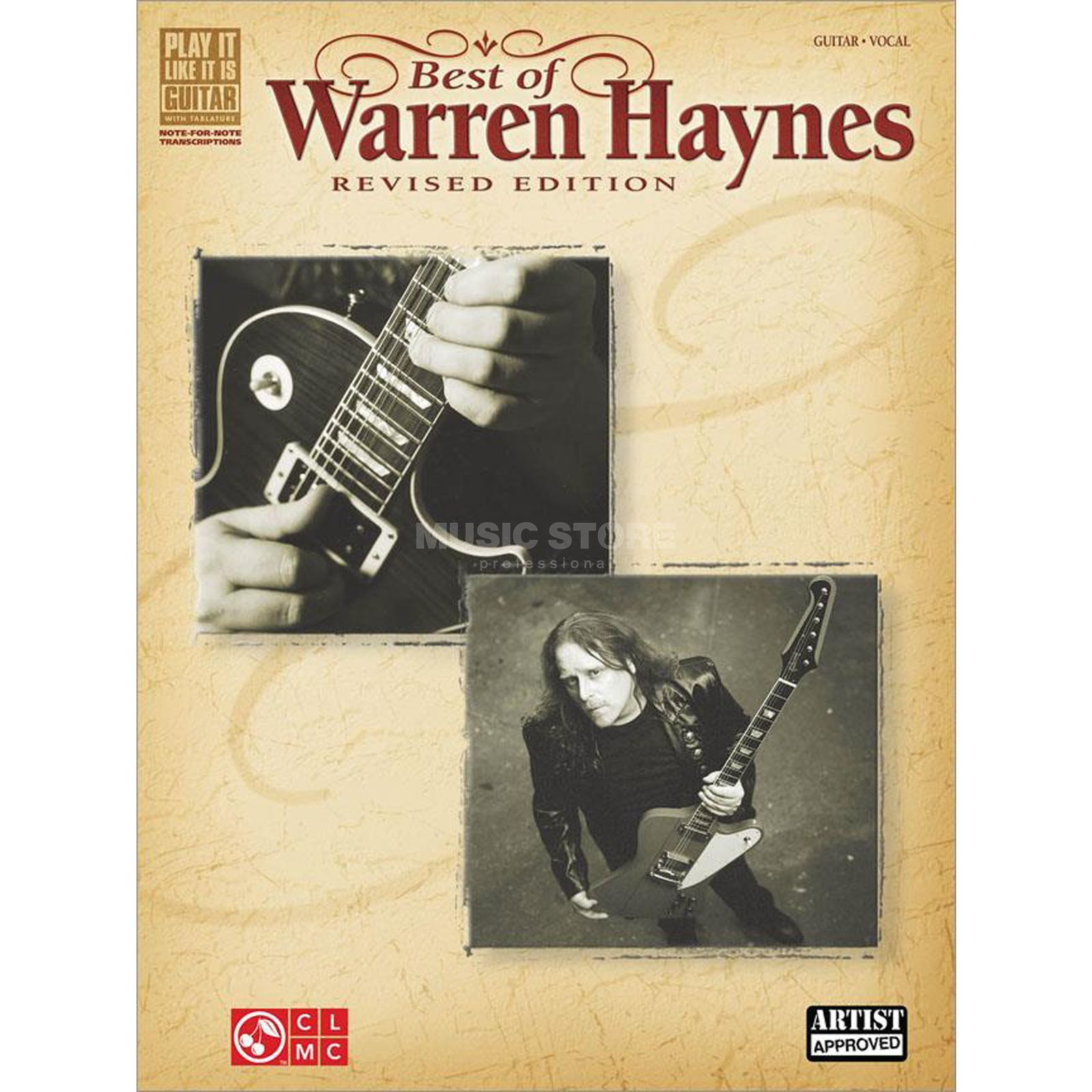 Cherry Lane Music Company Best of Warren Haynes Produktbild