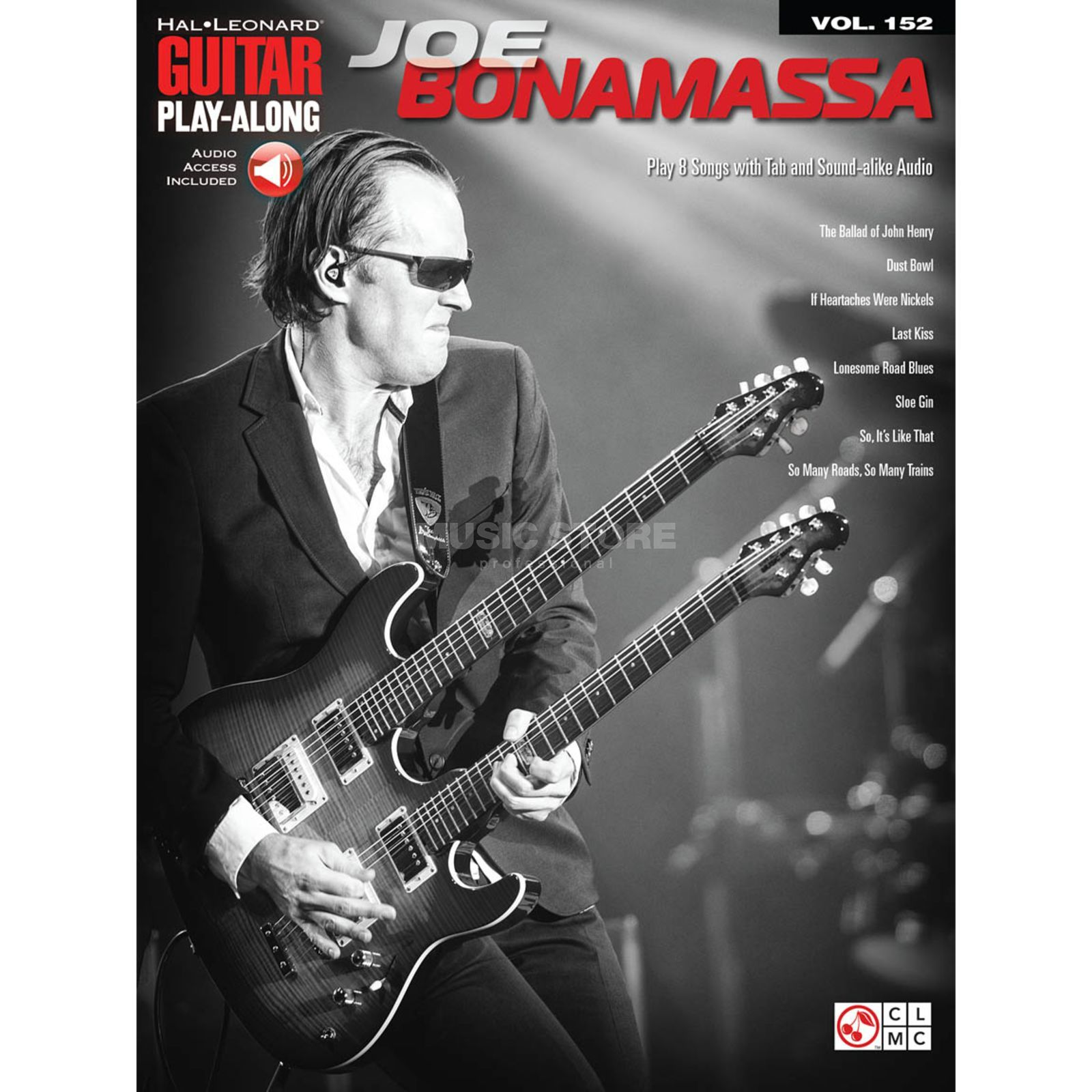 Cherry Lane Music Company Guitar Play-Along: Joe Bonamassa Vol. 152, TAB und Download Produktbild