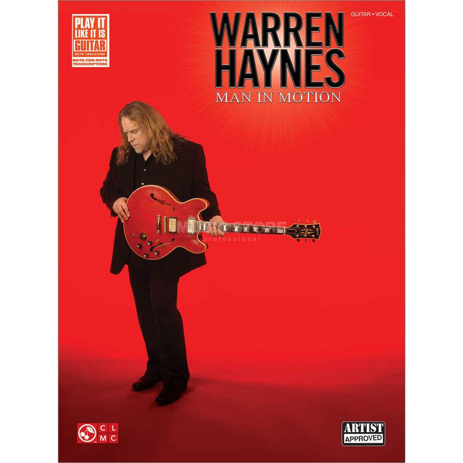 Cherry Lane Music Company Warren Haynes: Man in Motion Produktbillede
