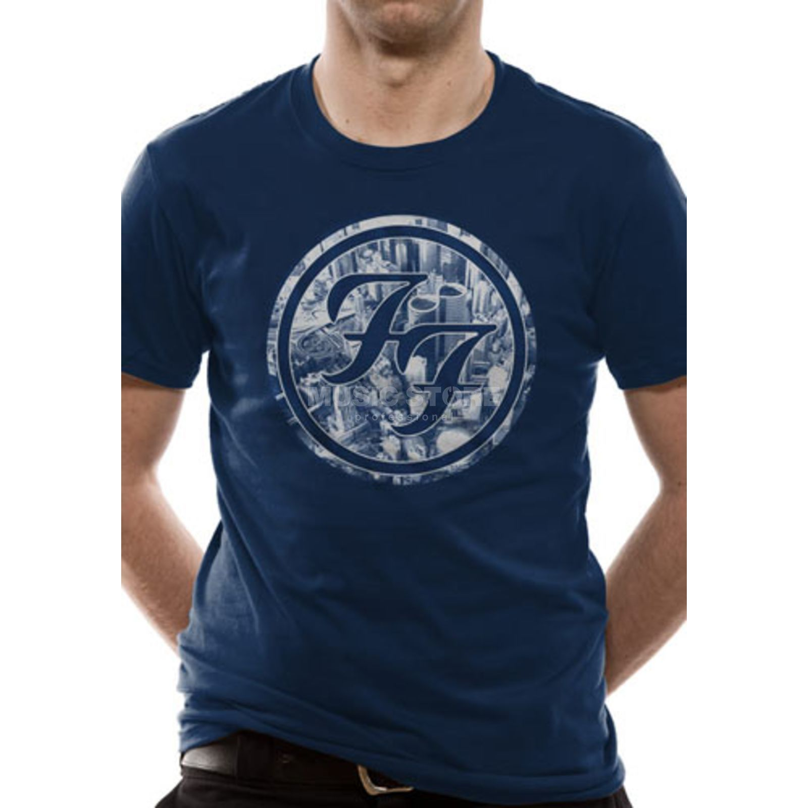 CID Foo Fighters - City Circle M Unisex T-Shirt Produktbild