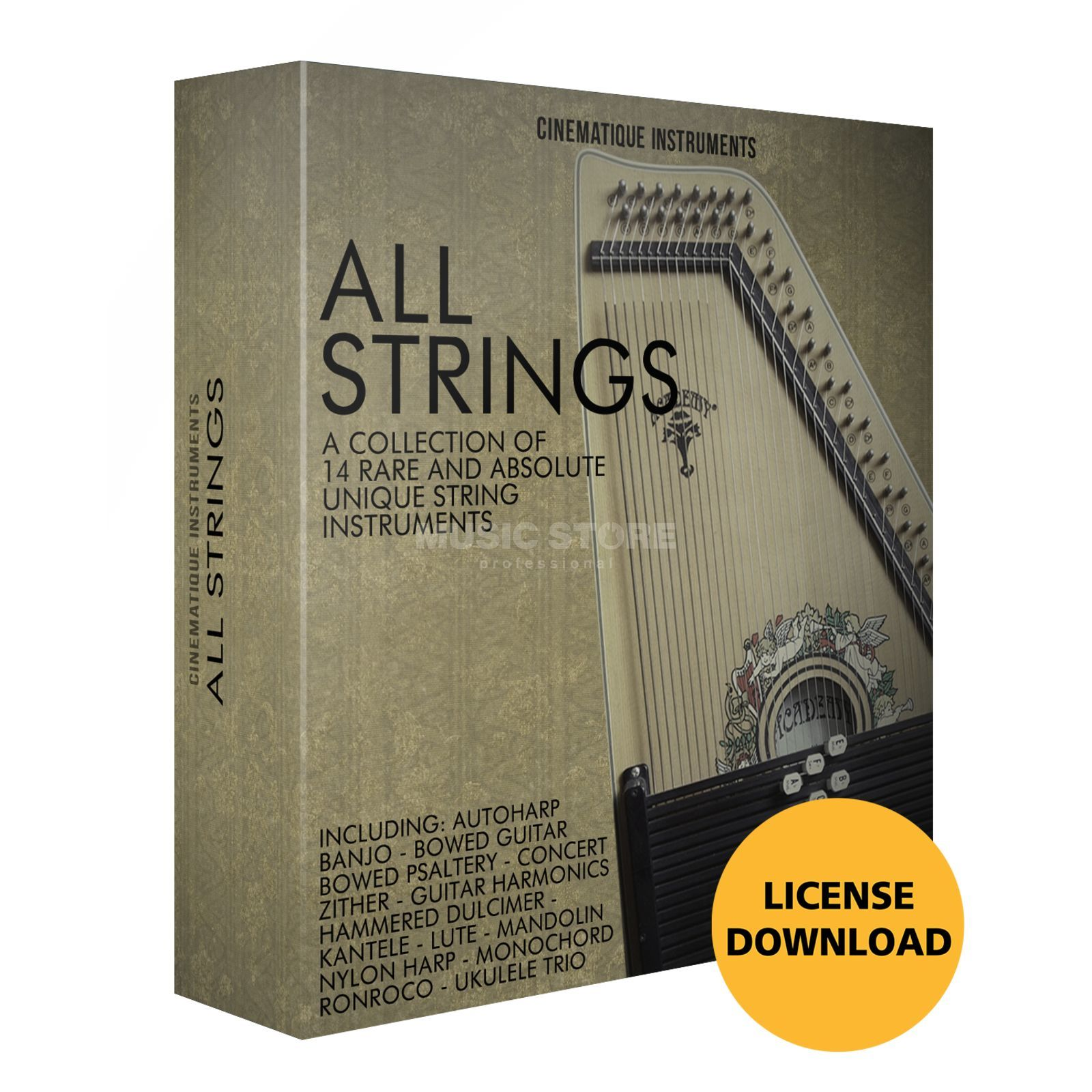 Cinematique Instruments All Strings Bundle License Code Produktbillede