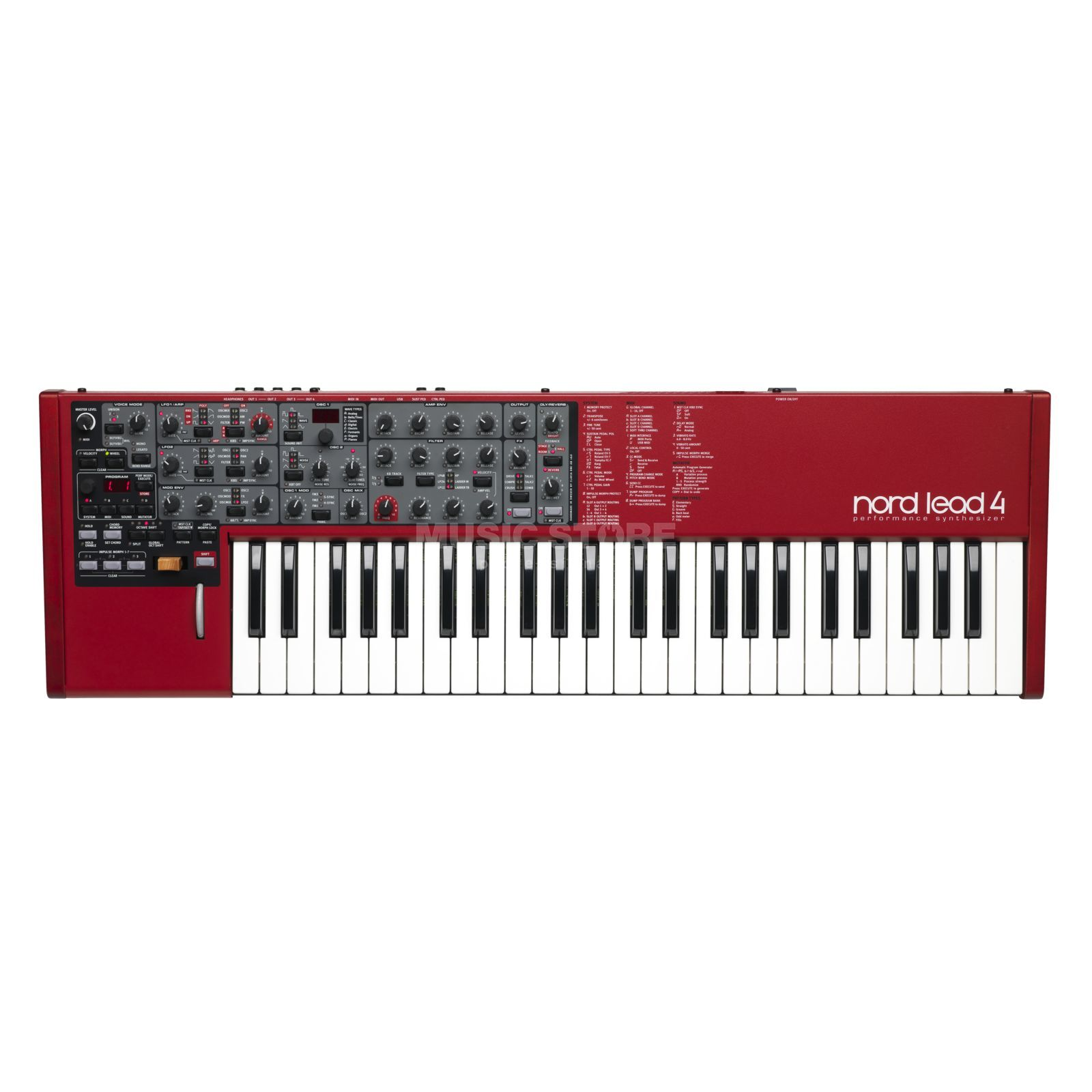 Clavia Nord Lead 4 Synthesizer Produktbild