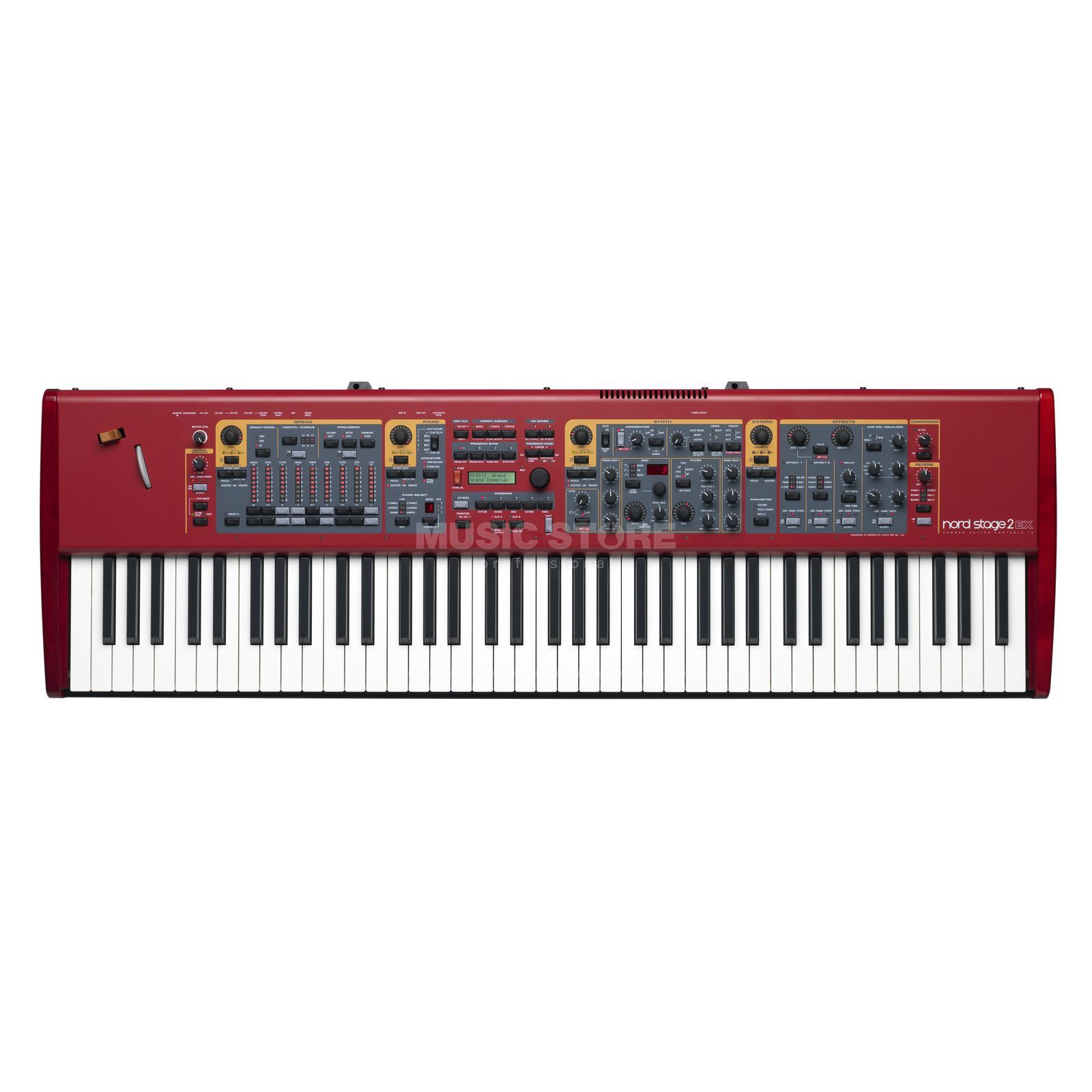 Clavia Nord Stage 2 EX 76 HP Stagepiano Produktbillede